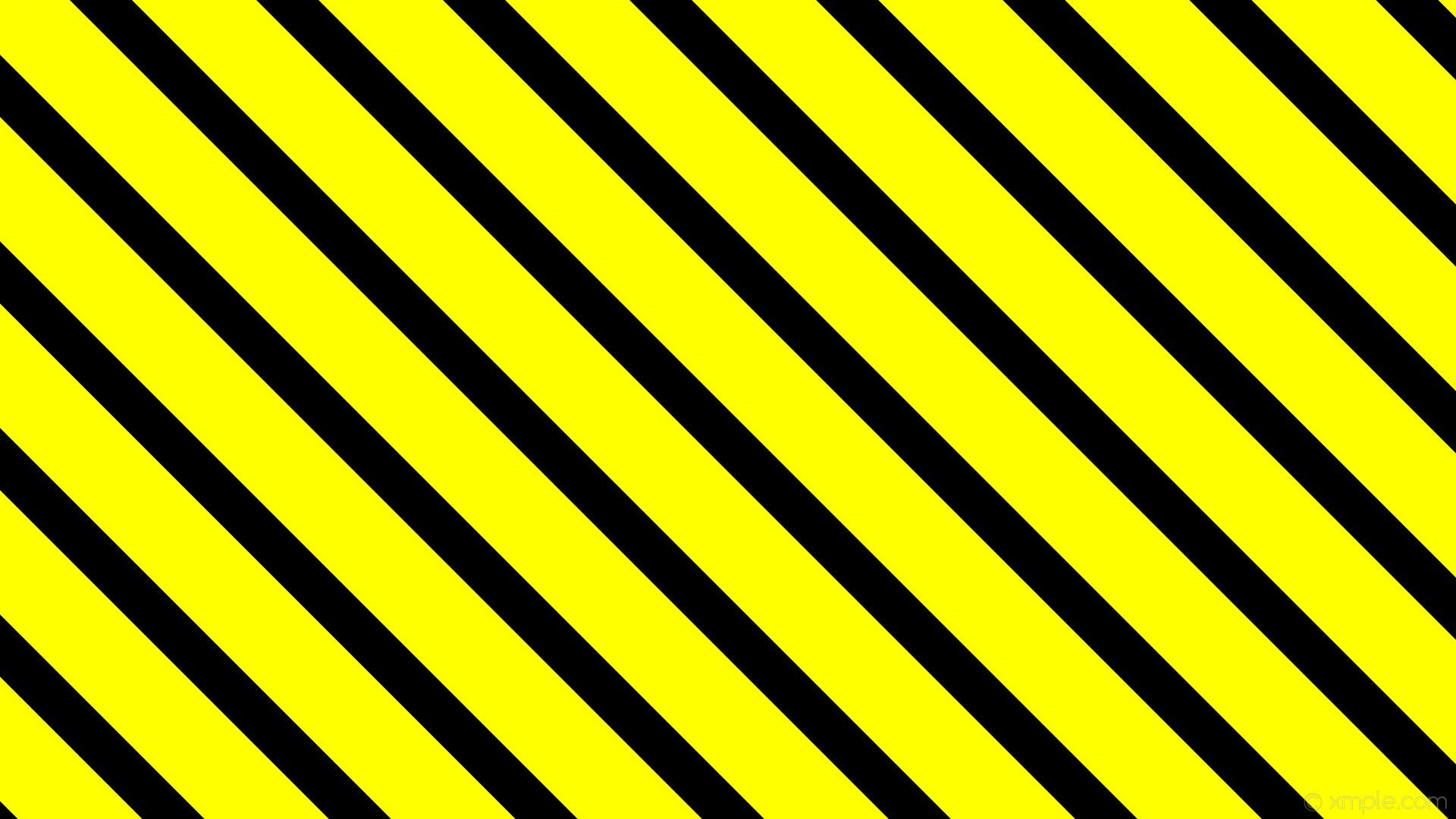 wallpaper yellow black stripes lines streaks #000000 #ffff00 diagonal 315°  58px 116px