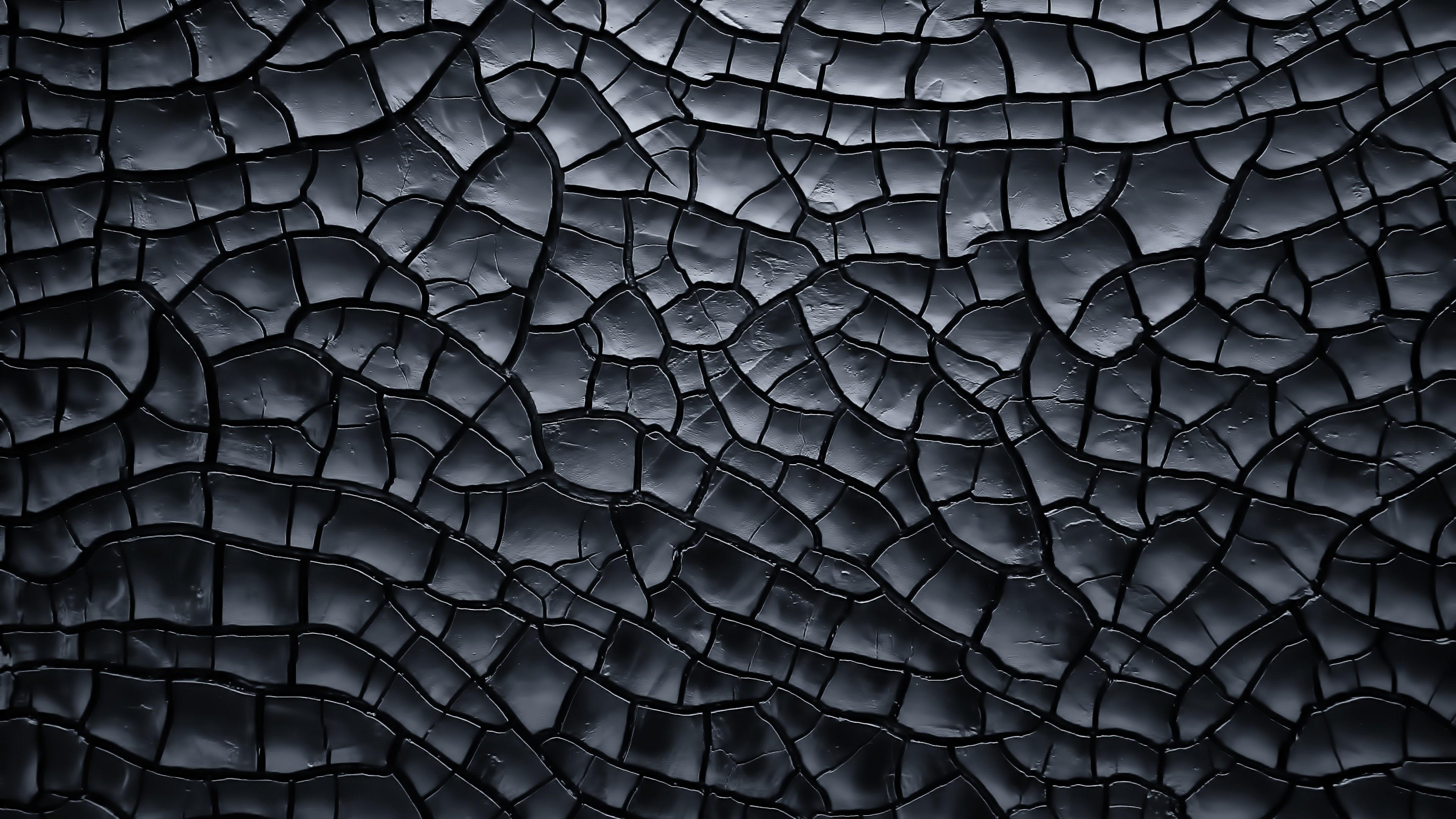 Wallpaper texture, crack, black