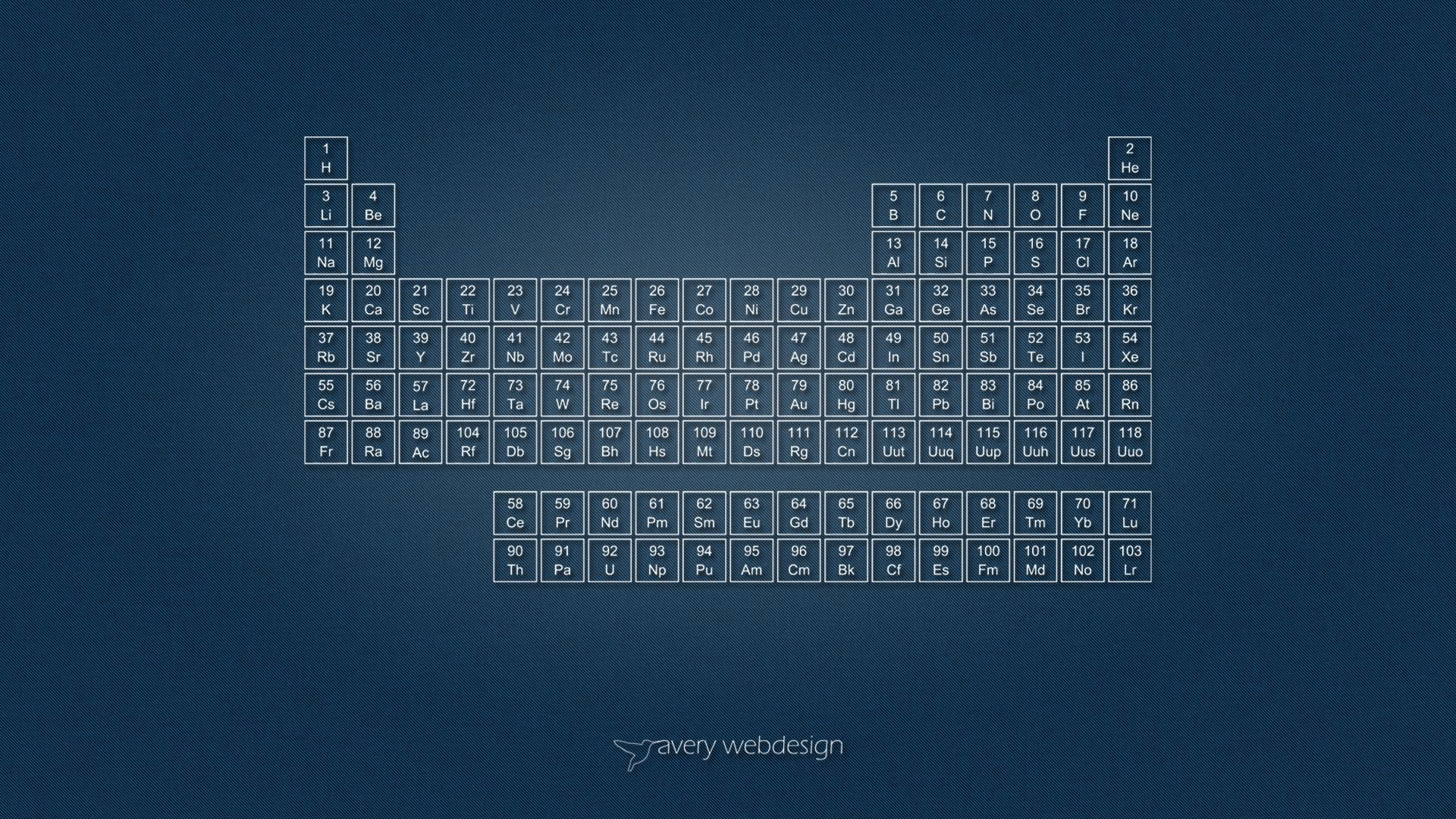 Periodic Table Denim Wallpaper in Blue by averywebdesign on DeviantArt