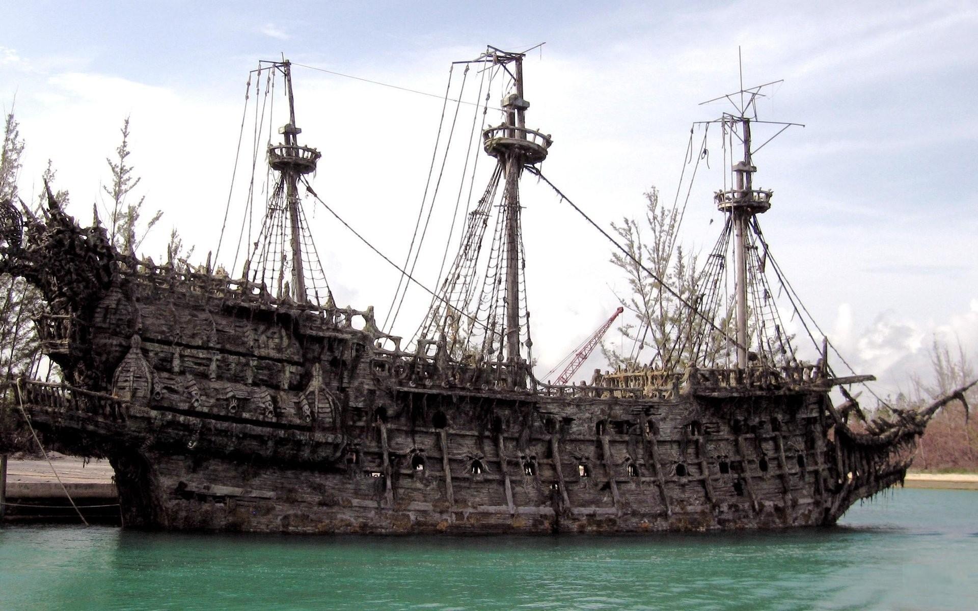 Old Beautiful Ship