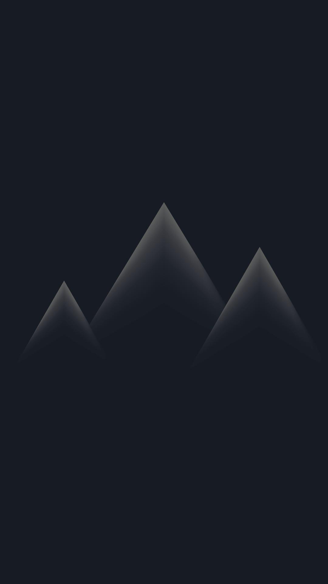 minimalistic mountain peaks minimalistic mobile wallpaper