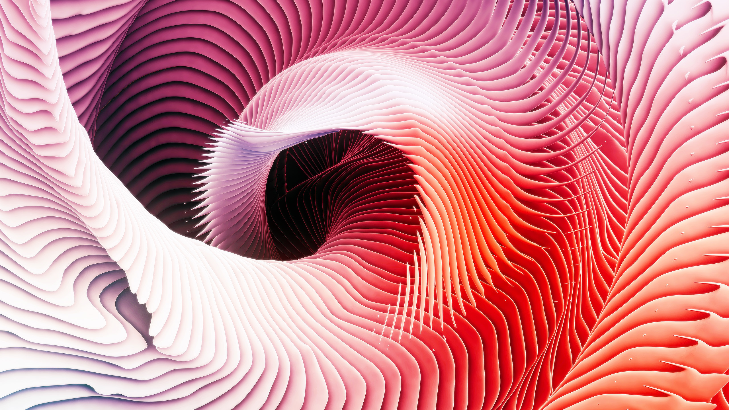 MacBook Pro Event Wallpaper ari weinkle Spiral_3B. Download via  @airweinkle: desktop (2560 …