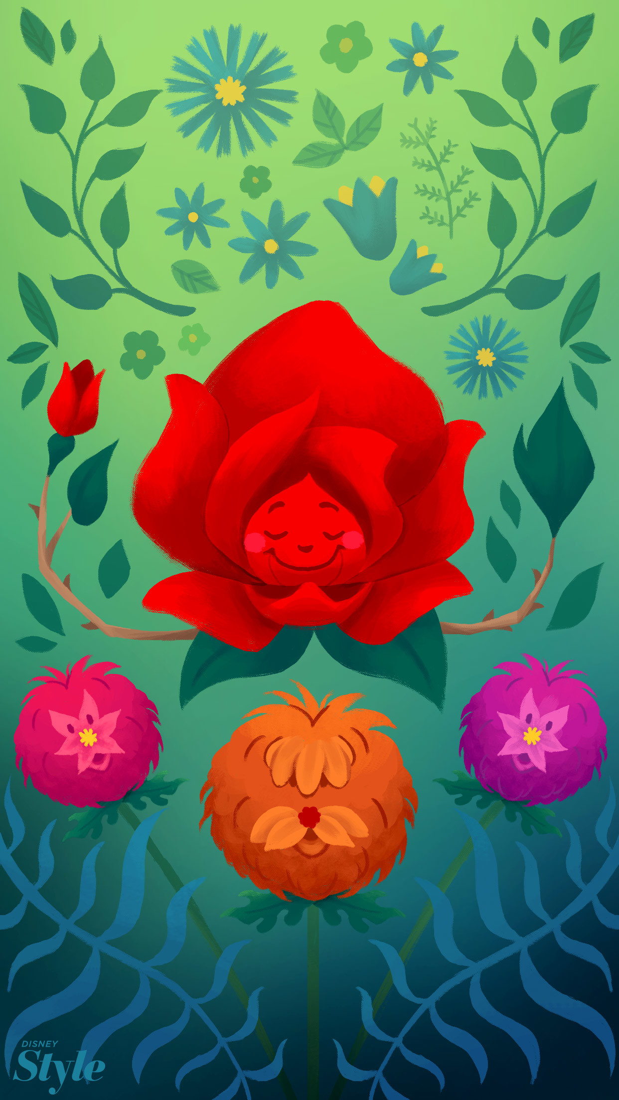 Spring Disney Backgrounds To Brighten Up Your Phone   Lifestyle   Disney  Style