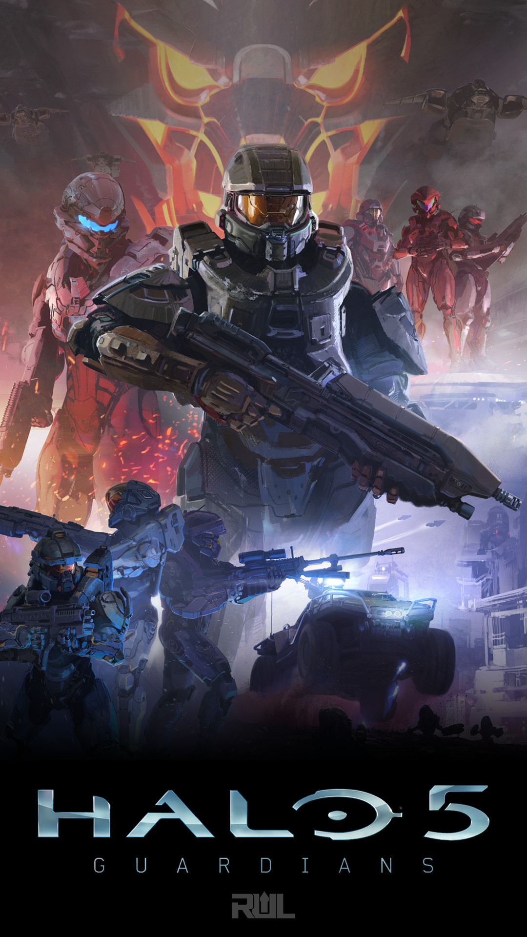 Halo 5 Phone Wallpapers, Profile Pics, and More