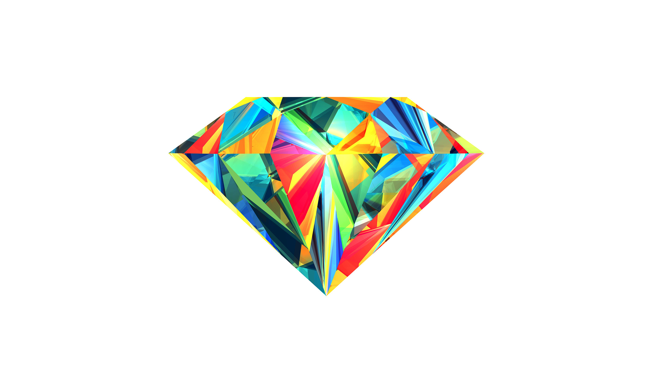Abstract – Facets Wallpaper