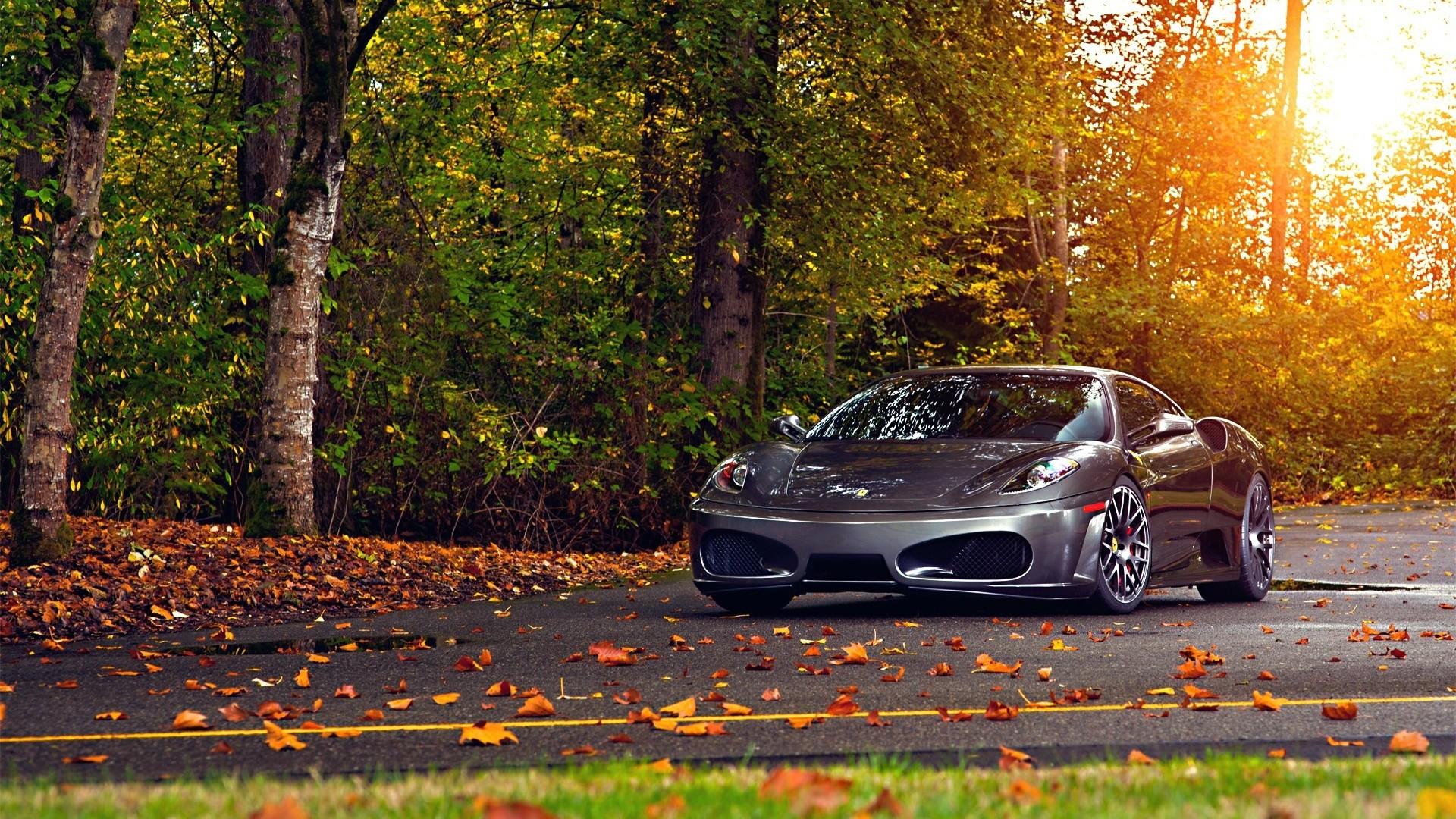 scuderia sports car autumn luxury, Desktop Backgrounds HD 1080p .