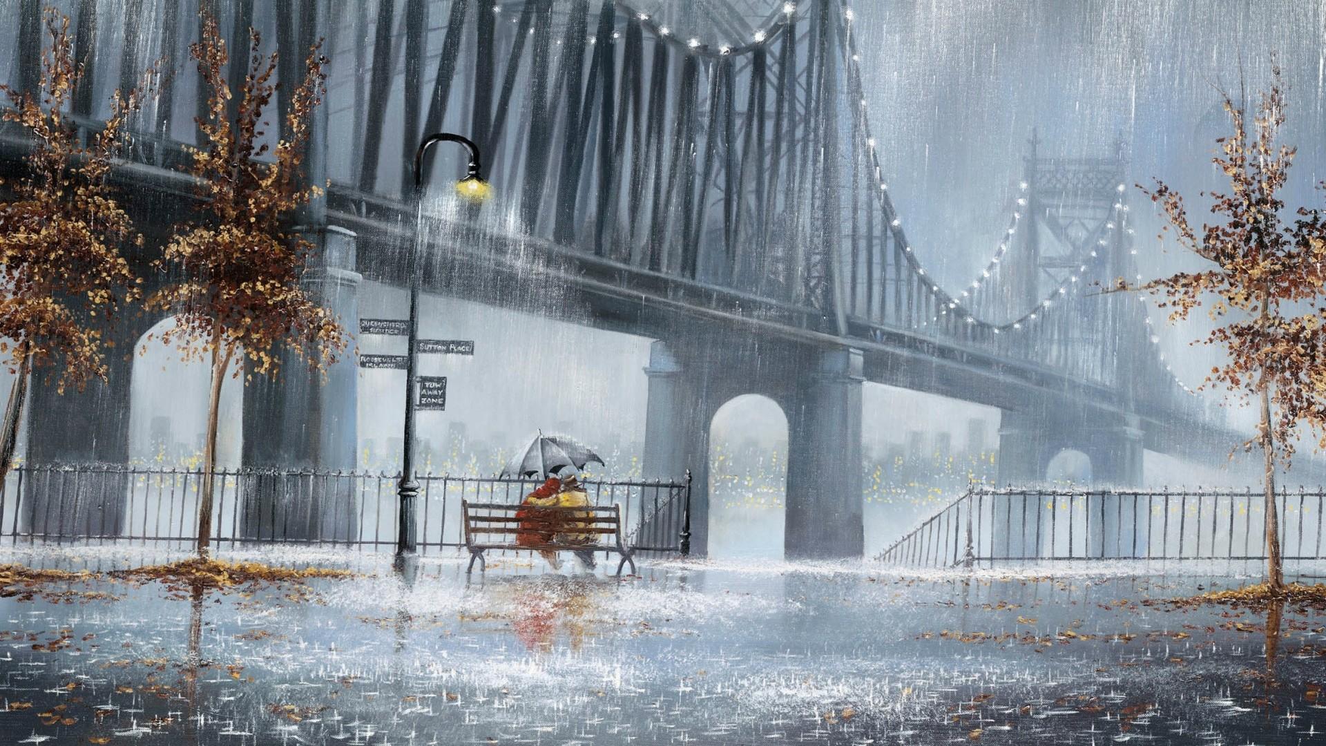 Full HD 1080p Rain Wallpapers HD, Desktop Backgrounds 1920×1080