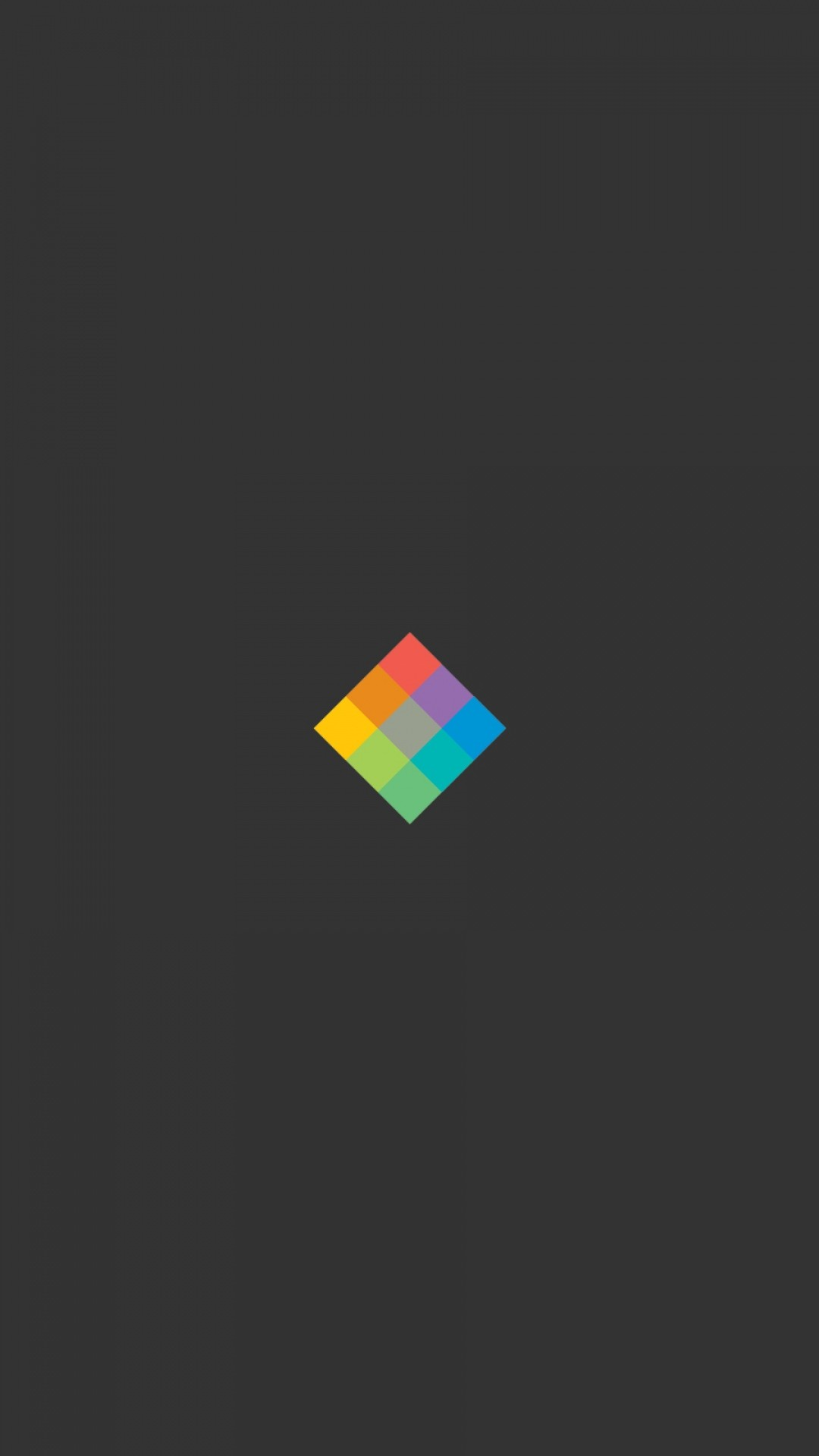 Flat Rubik's Cube. Tap to see Minimal iPhone 5/6 Wallpapers Collection |  mobile9