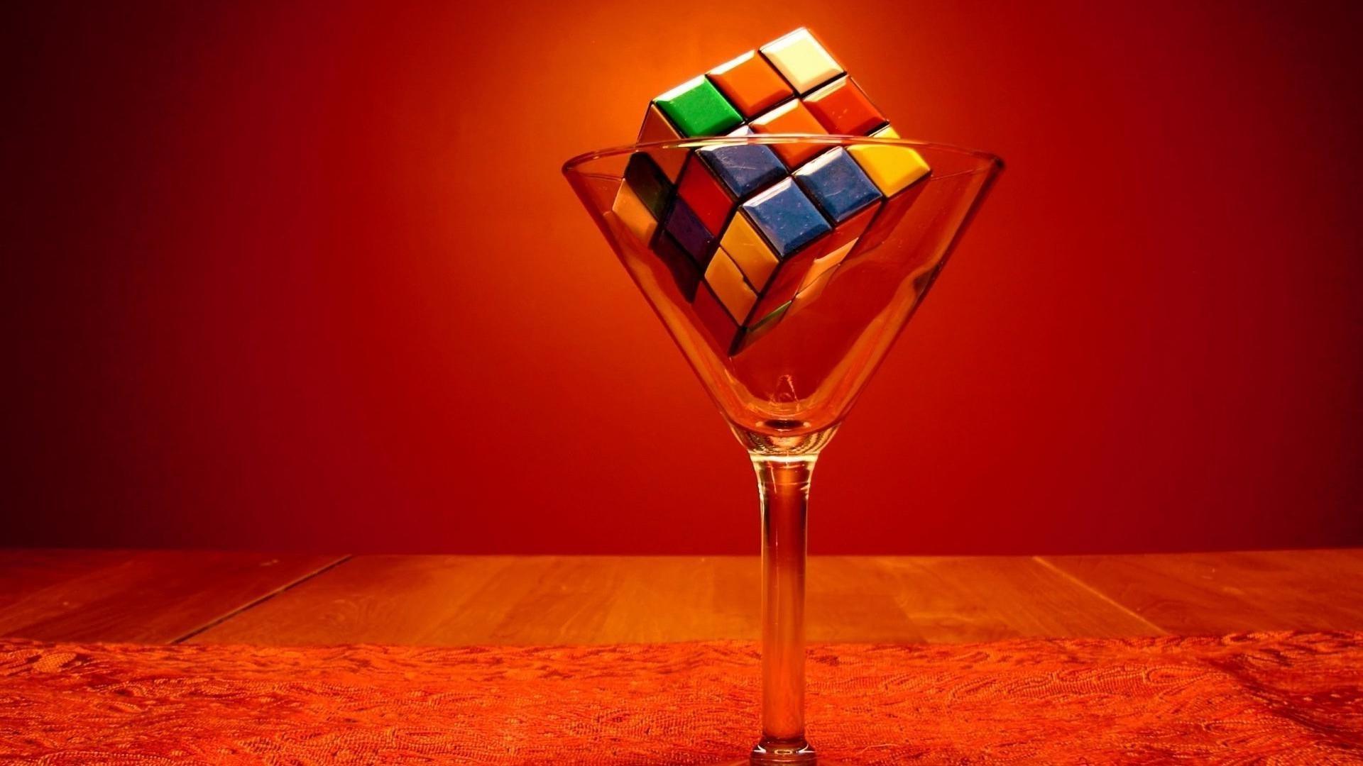 Rubiks cube in martini glass wallpaper, Rubiks cube in martini glass  Photography HD desktop wallpaper