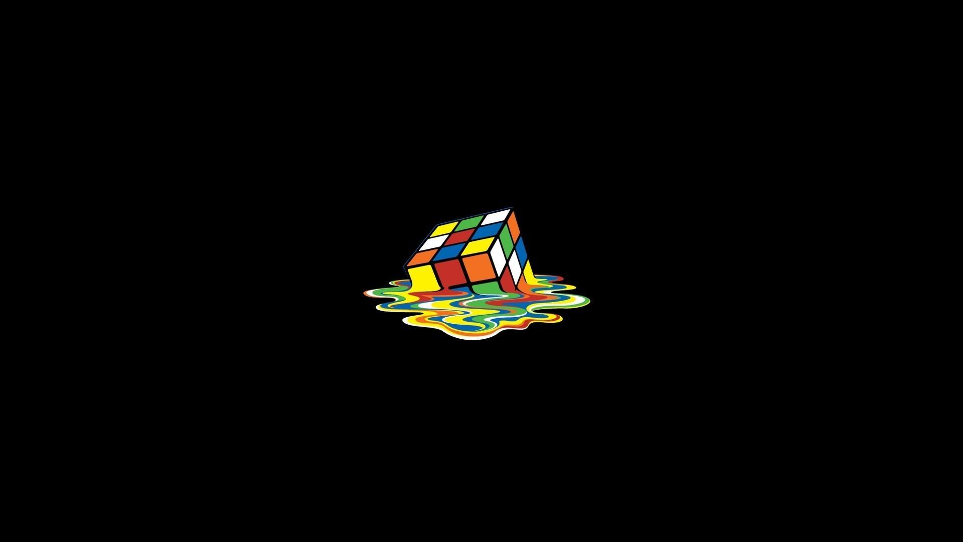 HD Wallpaper Wallpapers Free Download Molten Rubik Cube 1080p HD