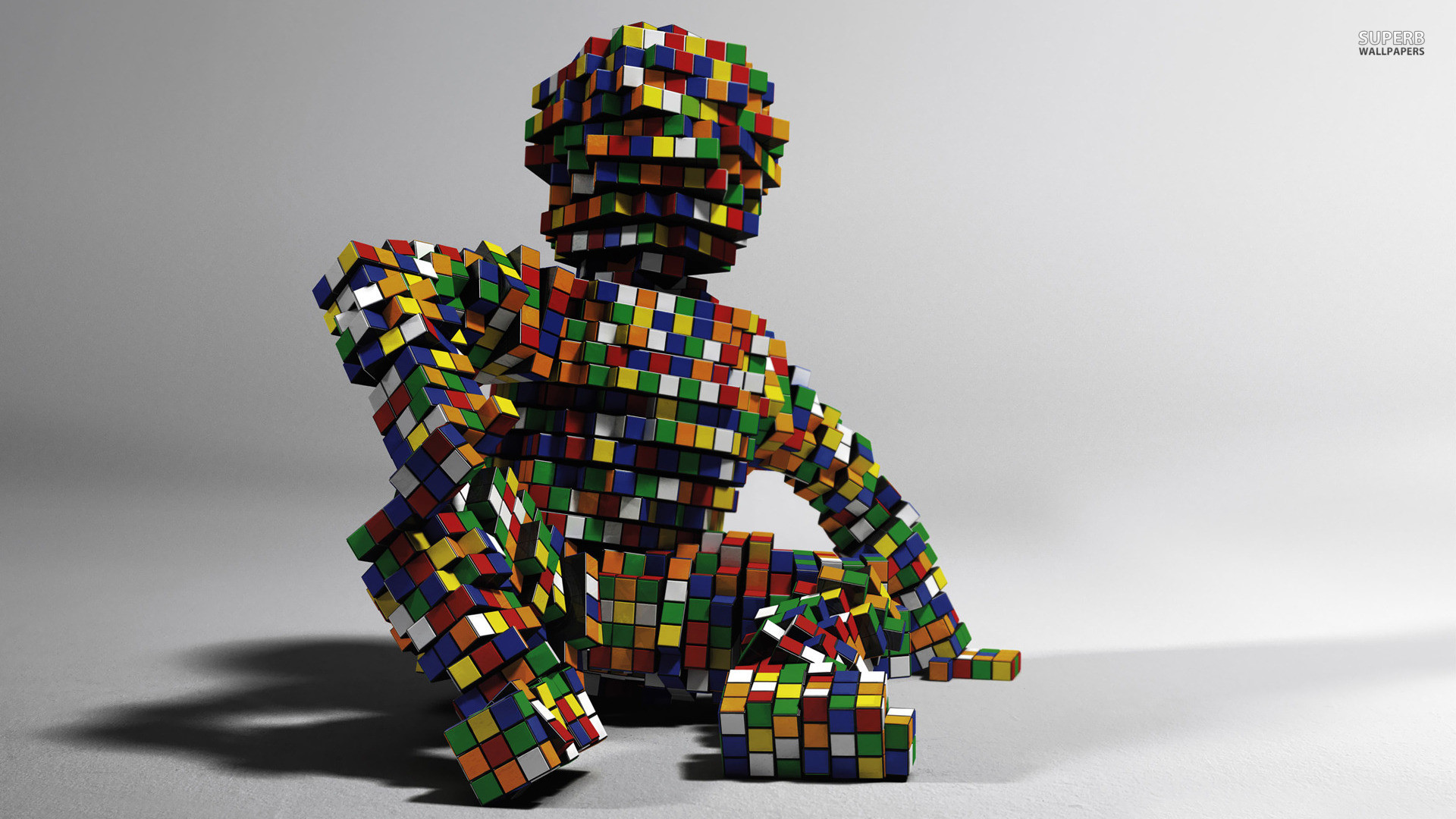 Rubiks Cube Figure. How to set wallpaper on your desktop? Click  the download link from above and set the wallpaper on the desktop from your  OS.