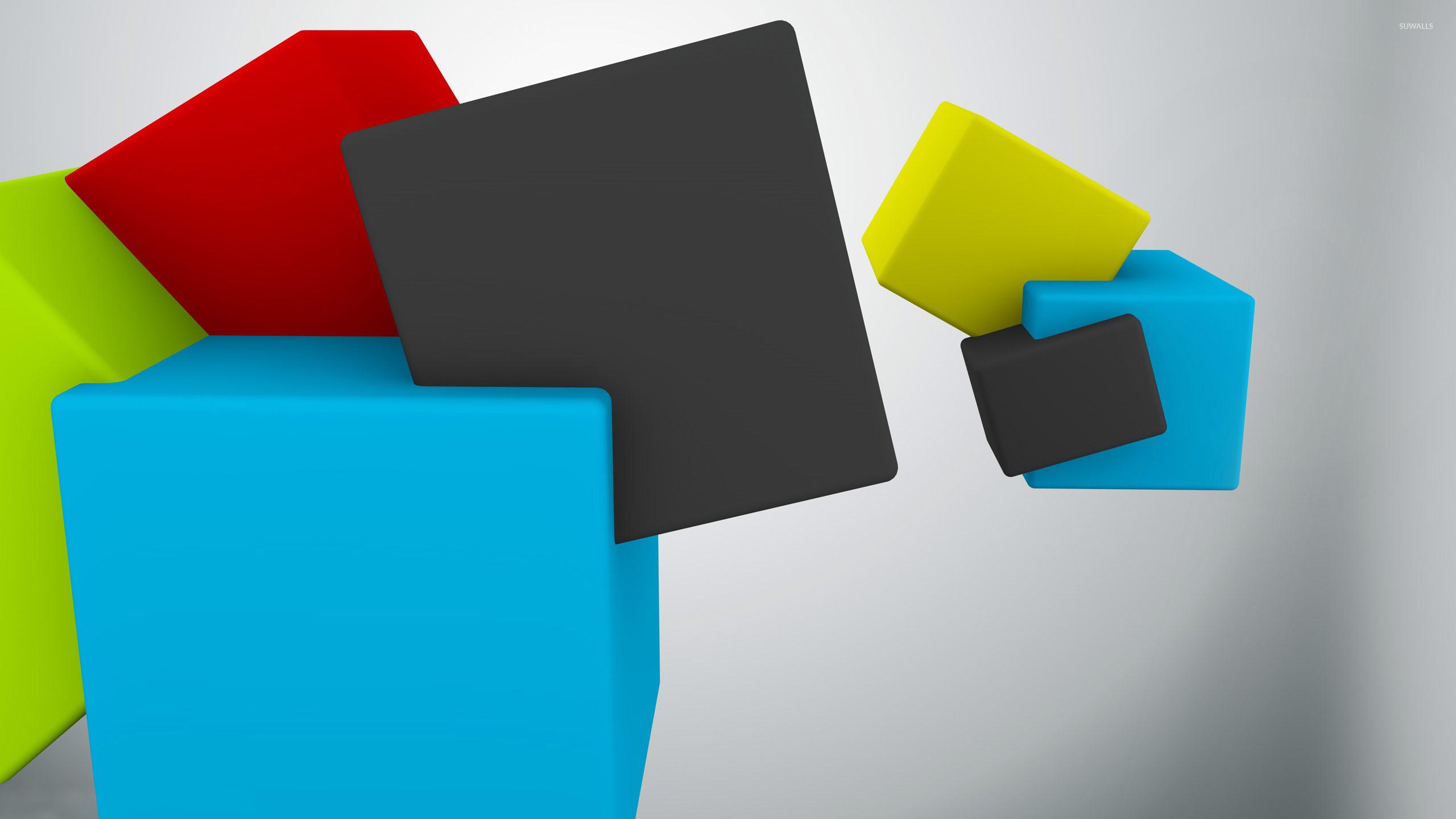 Colorful cubes [2] wallpaper jpg