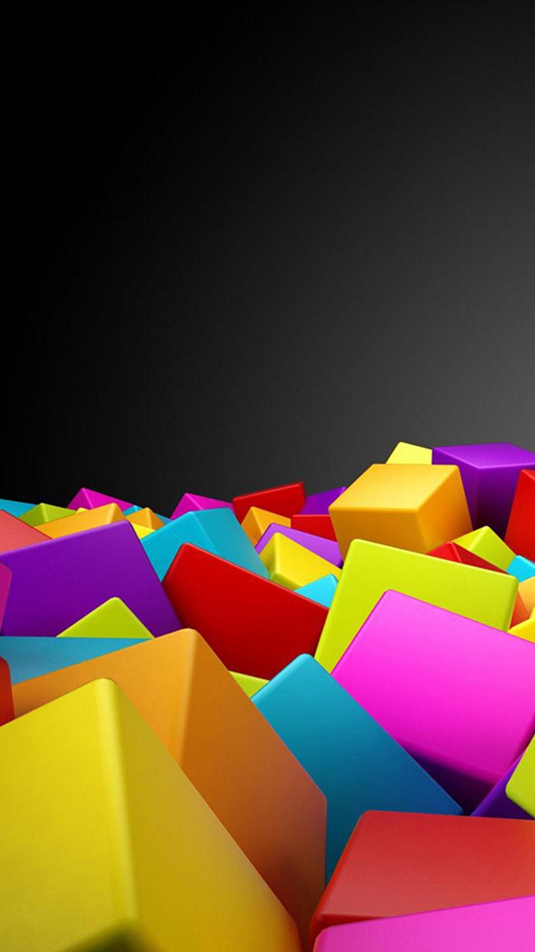Colorful Rubik Cubes iPhone 6 Plus HD Wallpaper …