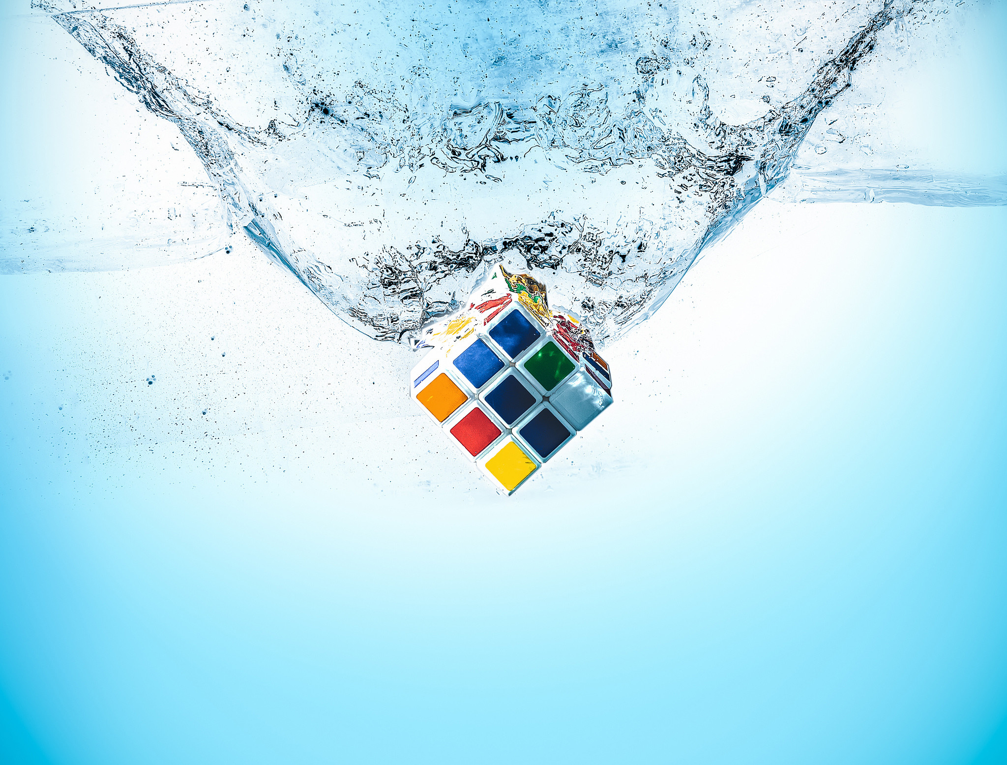 Rubiks Cube Splash