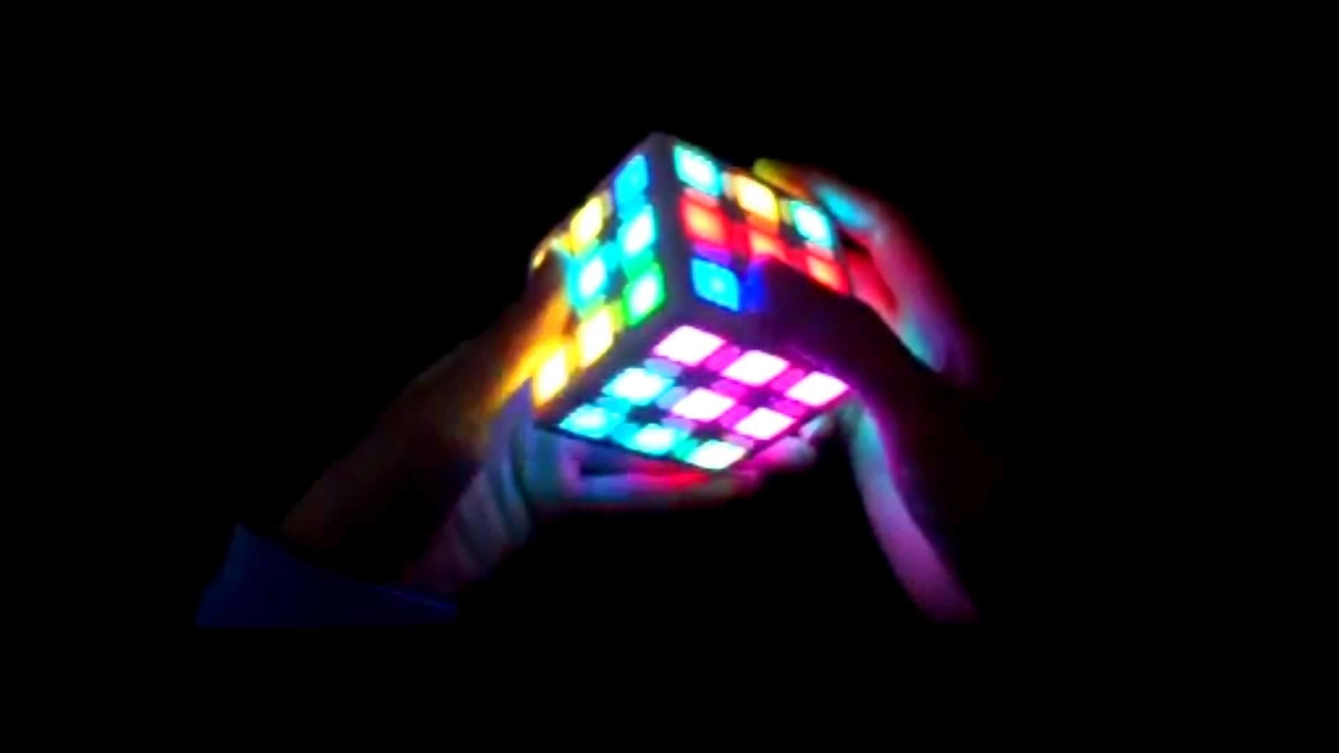 E-Cube Electronic Rubik Cube Digital Magic Cube