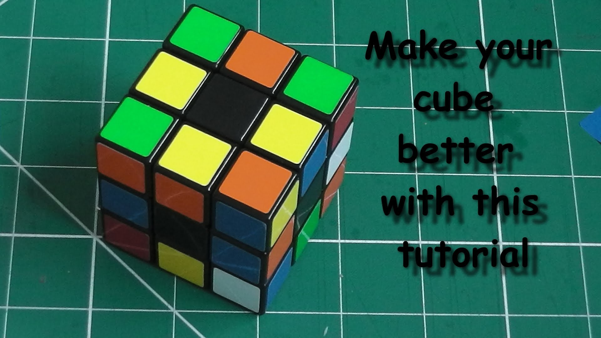 Rubik's cube modification – makes your cube the fastest and smoothest cube  ever!!!!!!!!!! – YouTube