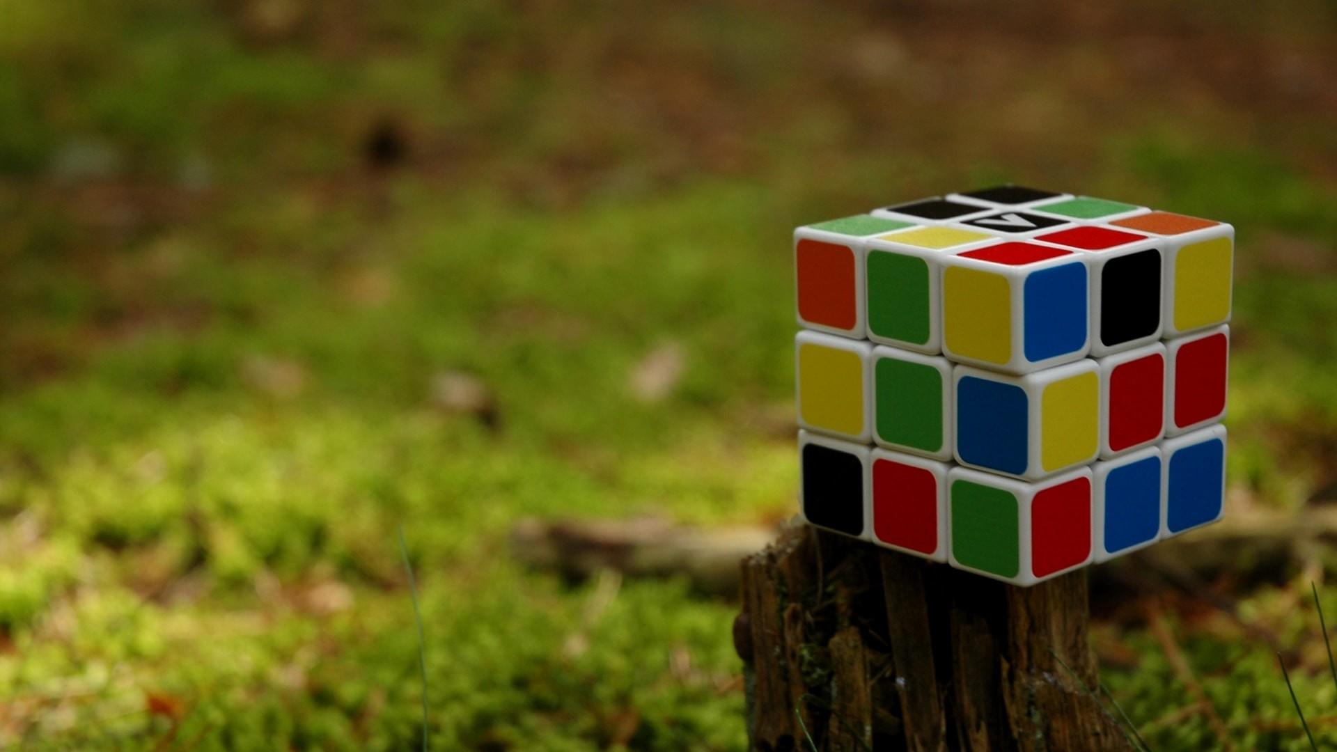 3d rubiks cube cube puzzle colorful desktop