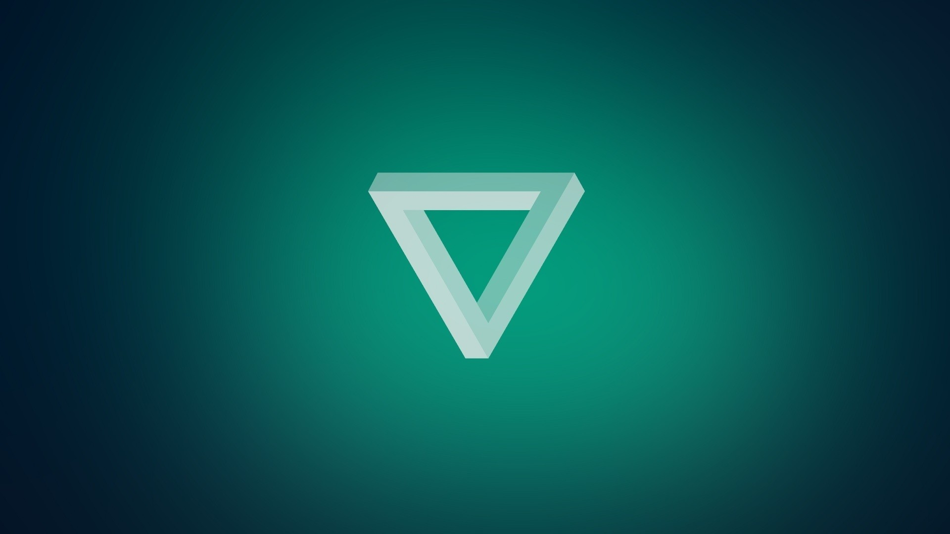 Wallpaper triangle, light, dark, shape