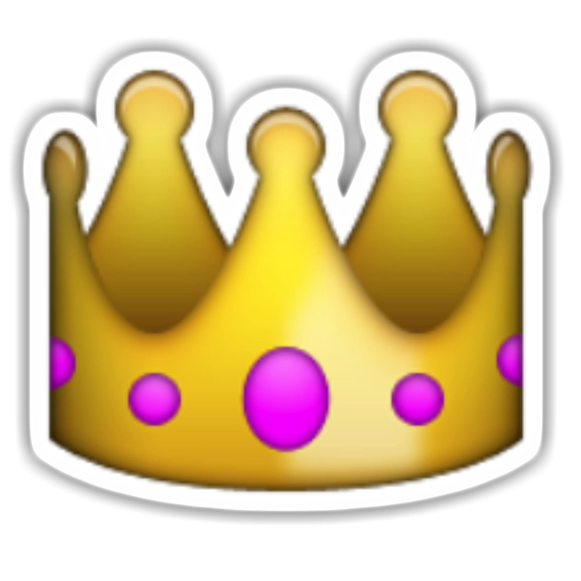 Emoji Stickers Related Keywords & Suggestions – Emoji … crown with 100  emoji wallpaper …