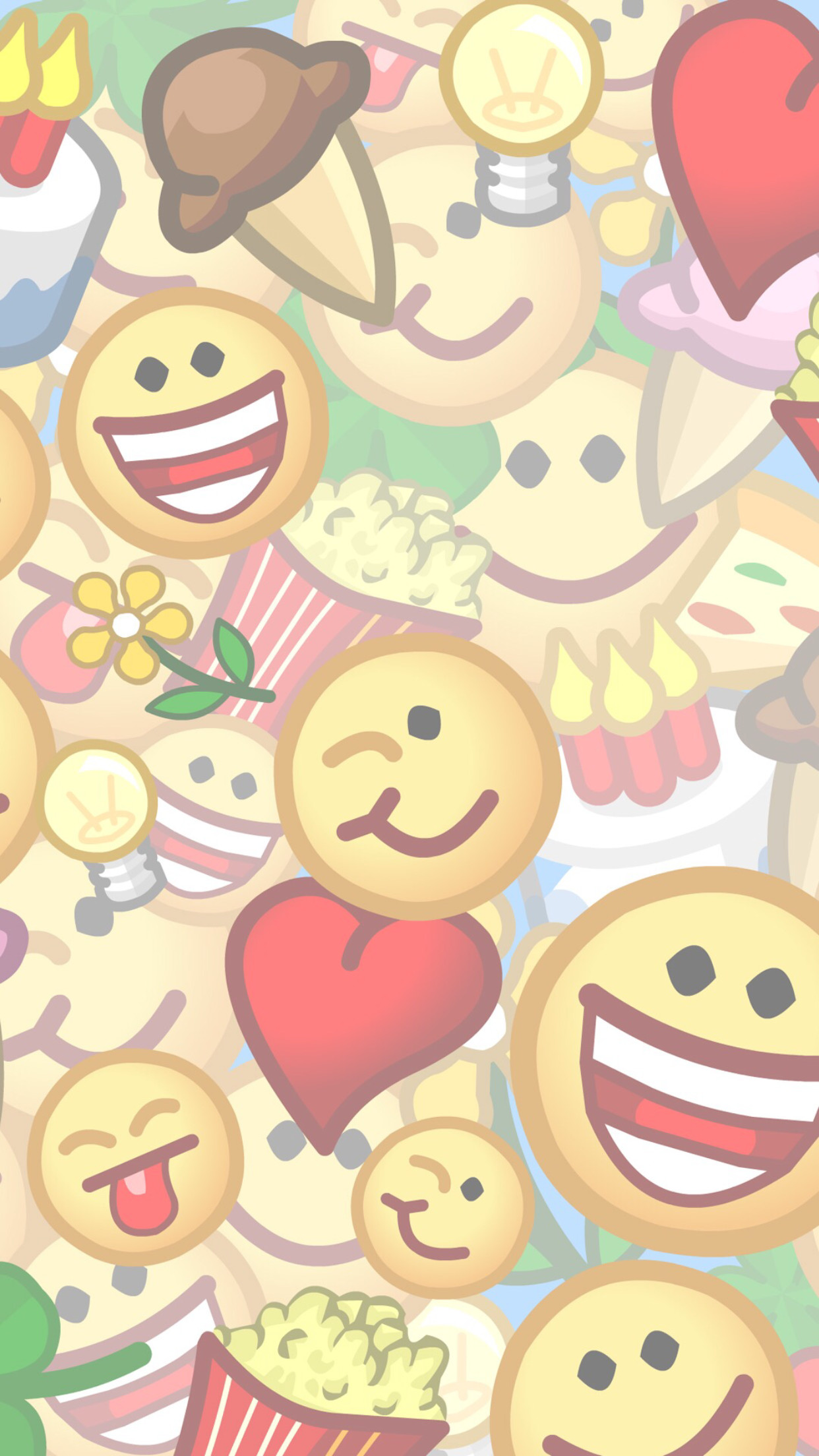 Emojis, Pop Art, Android, Animation, Wallpapers, Iphone 7, Life, Funds,  Paper