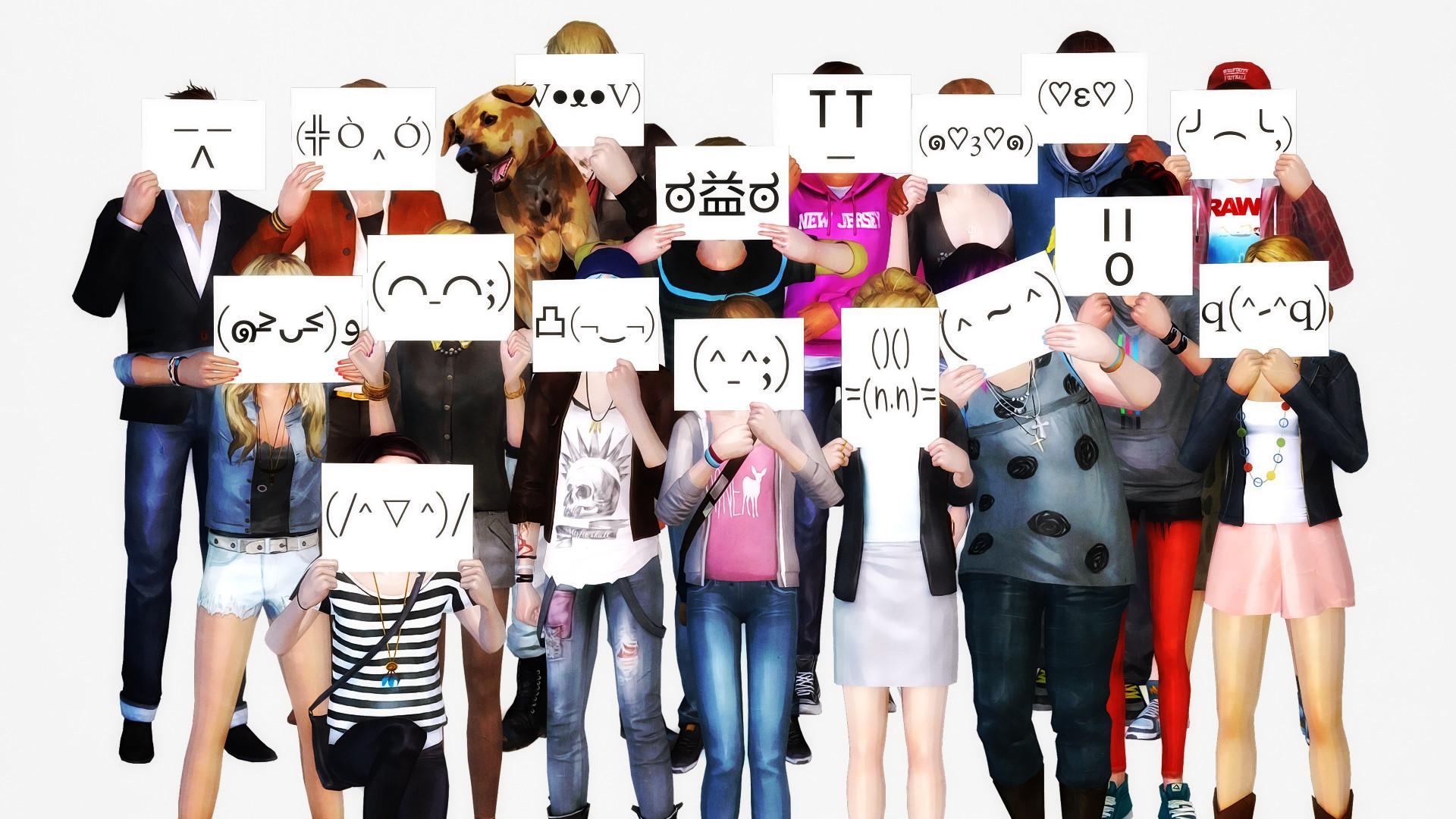 … life is strange emoji wallpaper by jinxonhog
