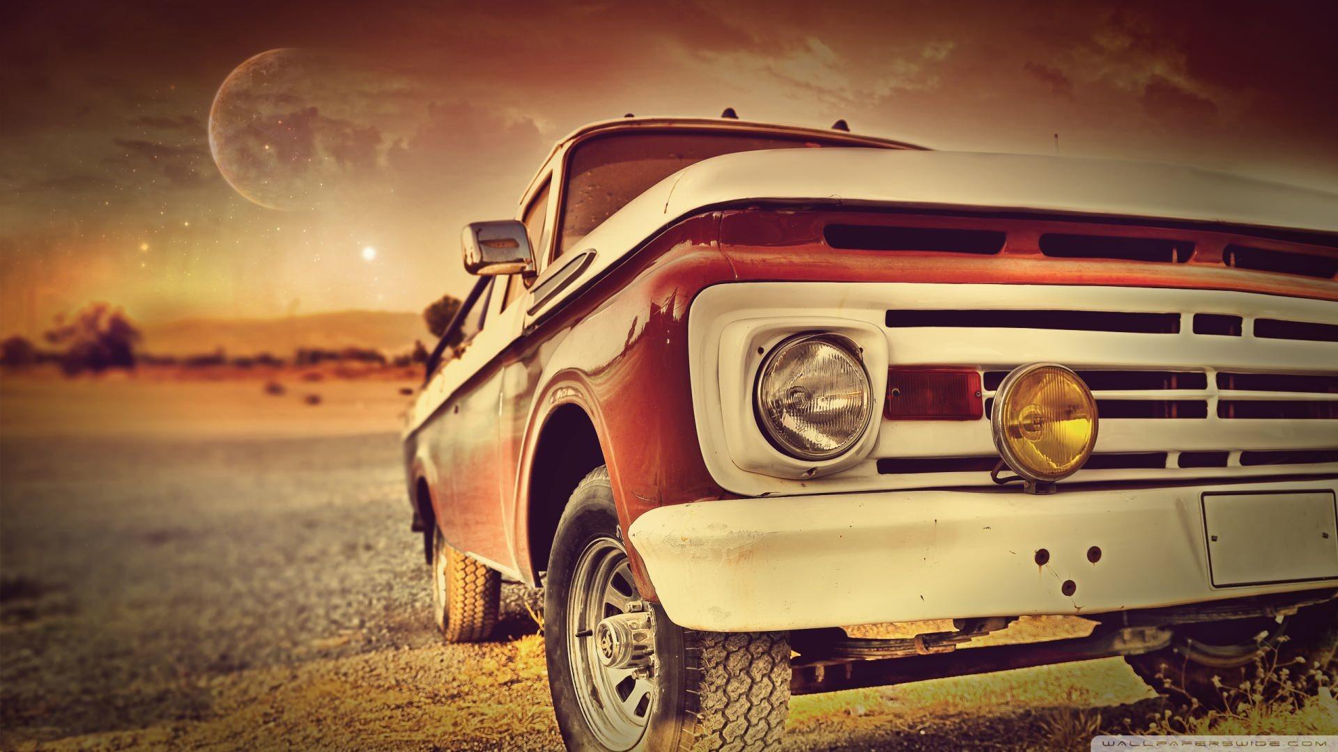 Cool Vintage HD Car Photography Wallpaper