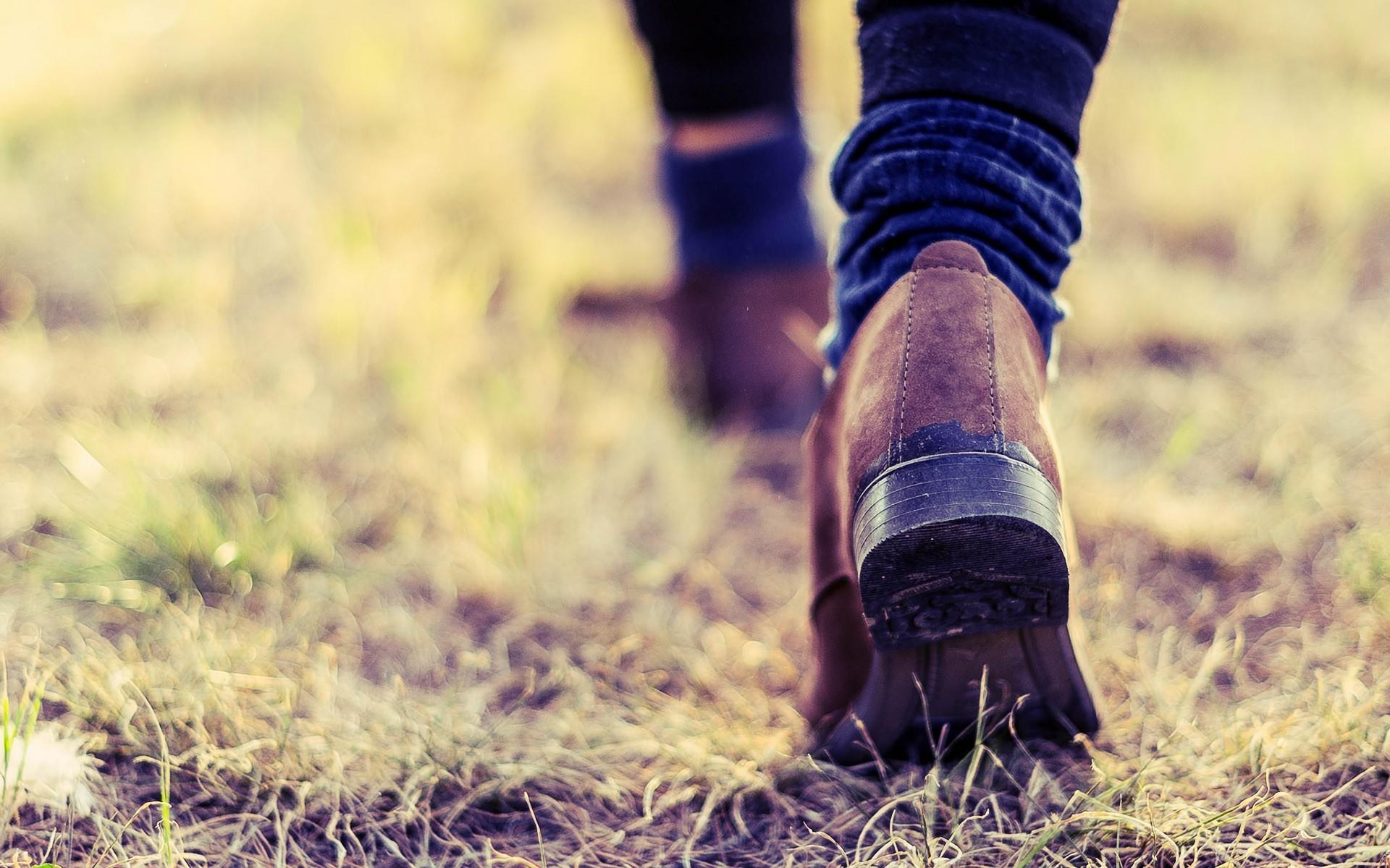 macro, shoes, grass, alone, photography, wallpaper, hd, fashion,