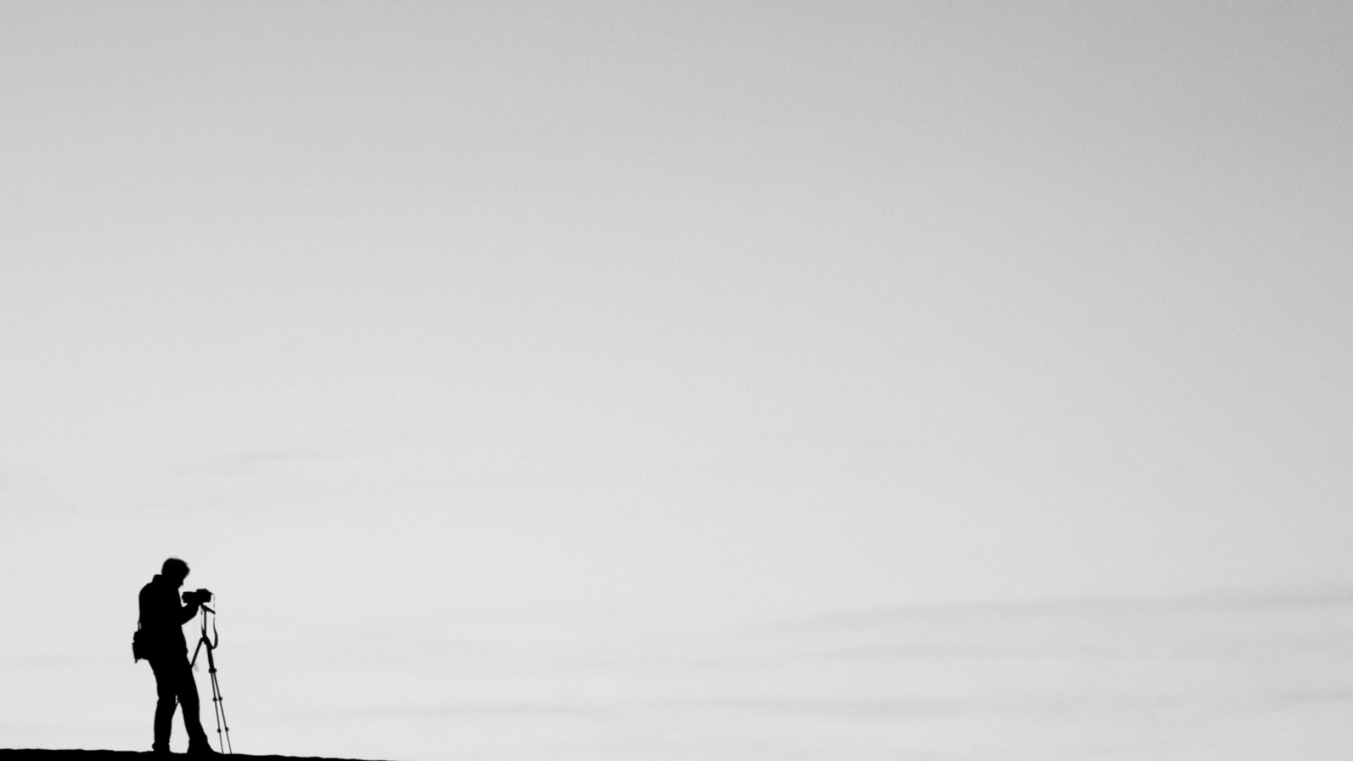 Wallpaper photographer, minimalism, photo