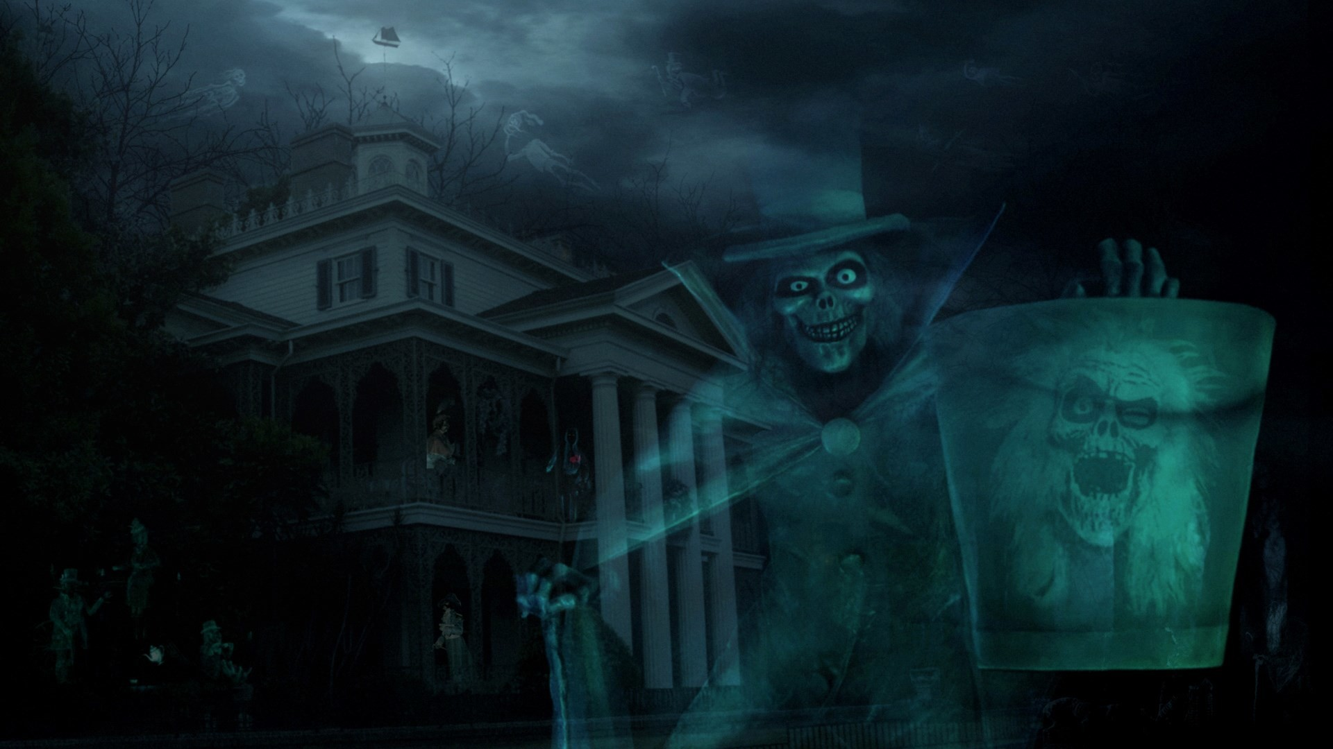 disney world haunted mansion wallpaper …