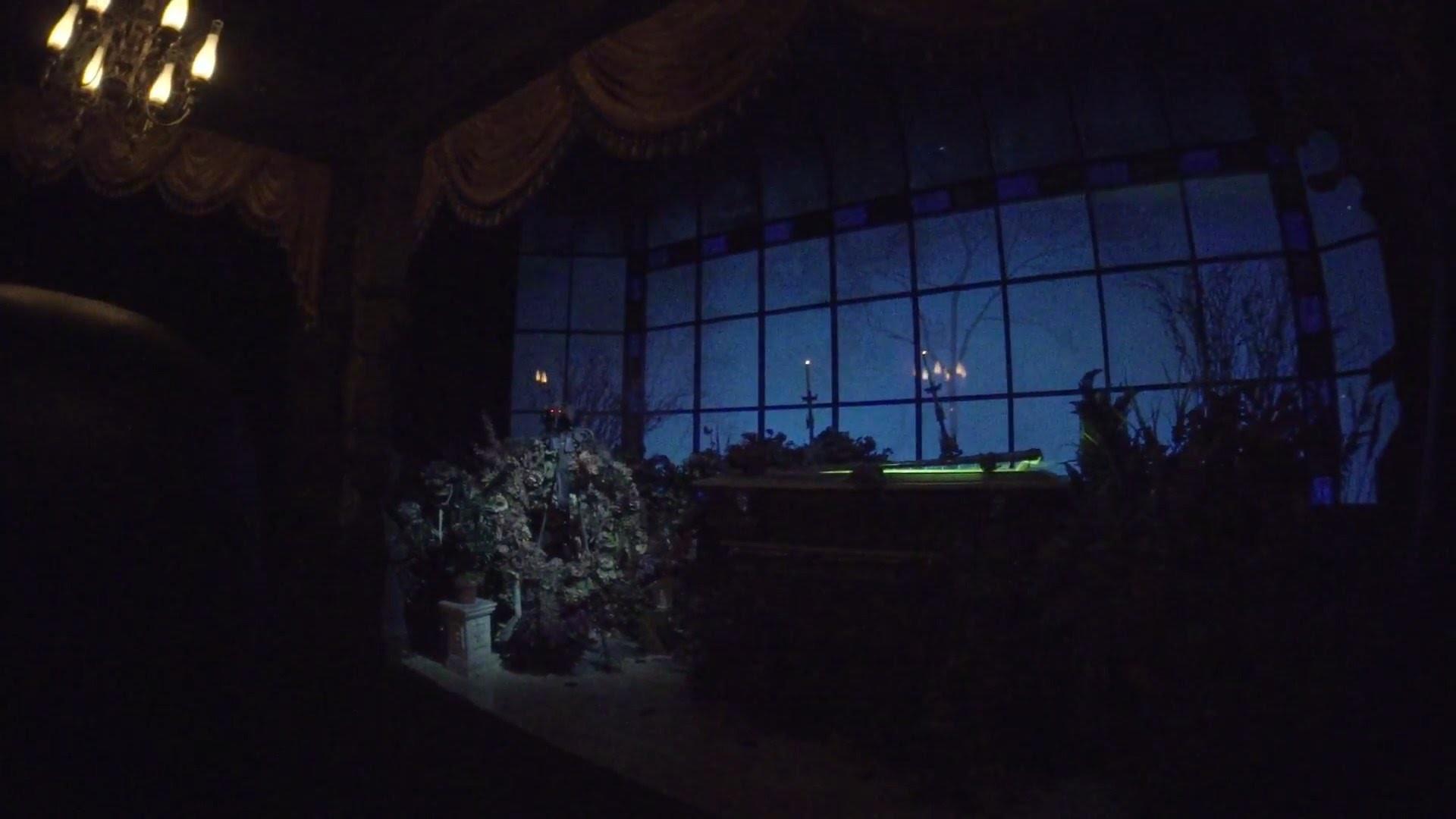 Haunted Mansion Low Light, Magic Kingdom, Walt Disney World HD 1080p 60fps