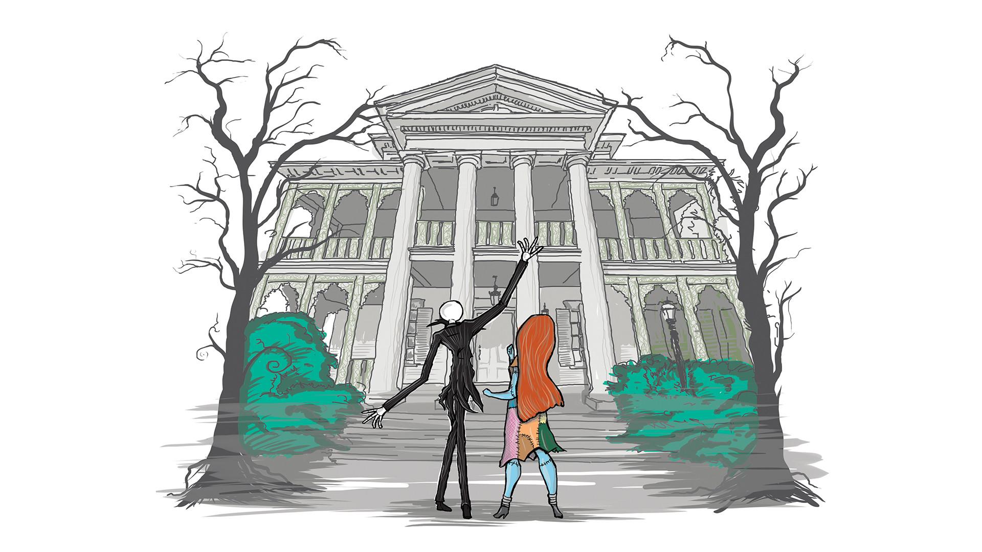 Wallpaper Wednesday: Disneyland Haunted Mansion