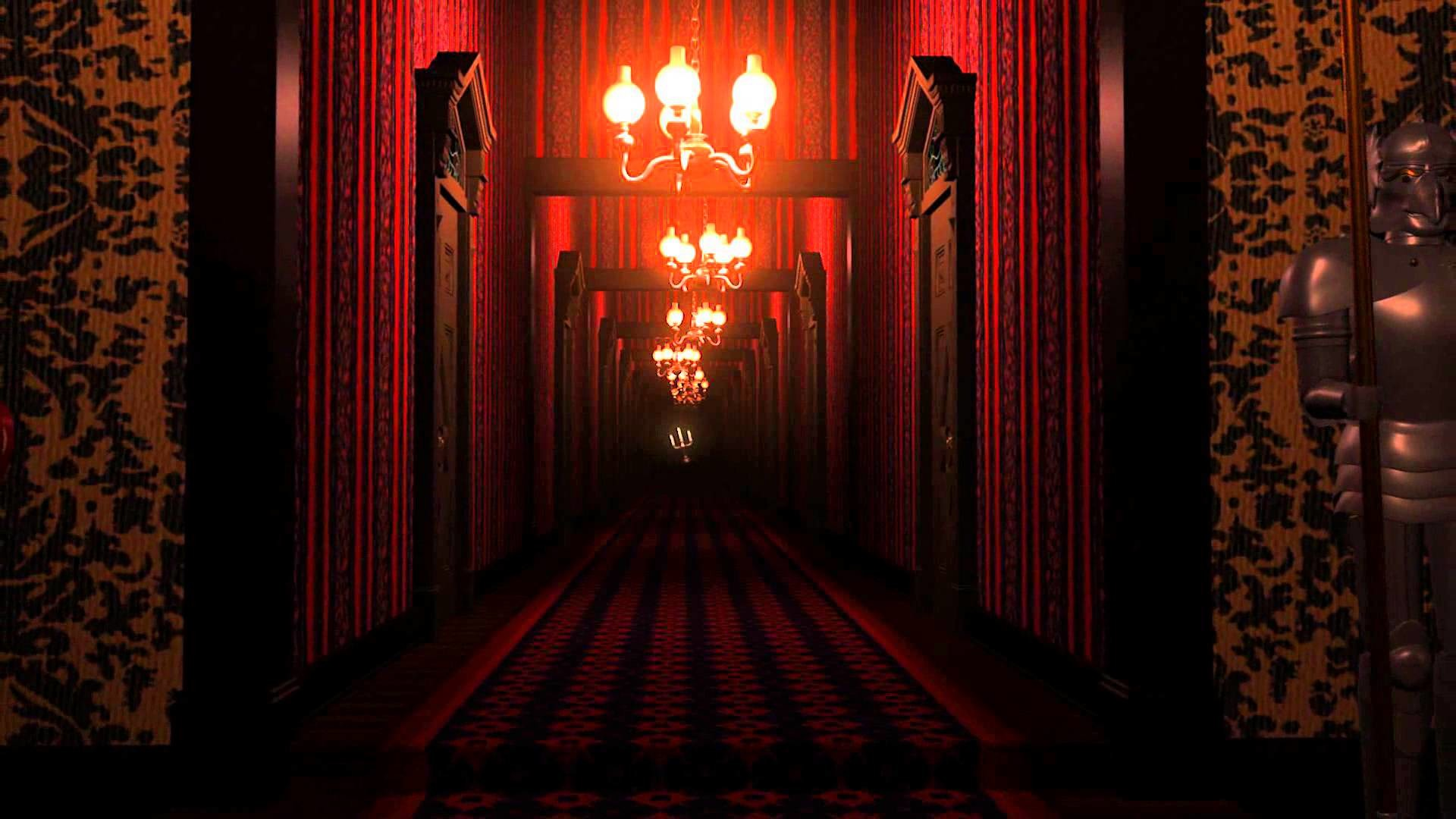A short preview of the Endless Hallway sequence from my Digital recreation  of the Haunted Mansion