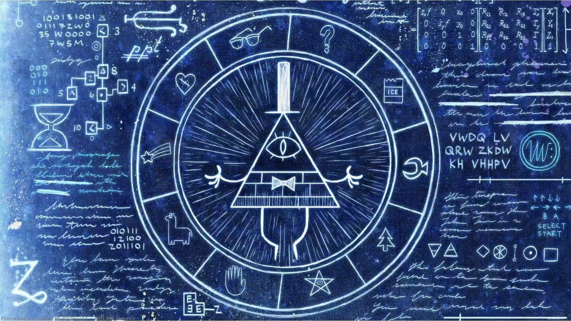 bill cipher wallpaper