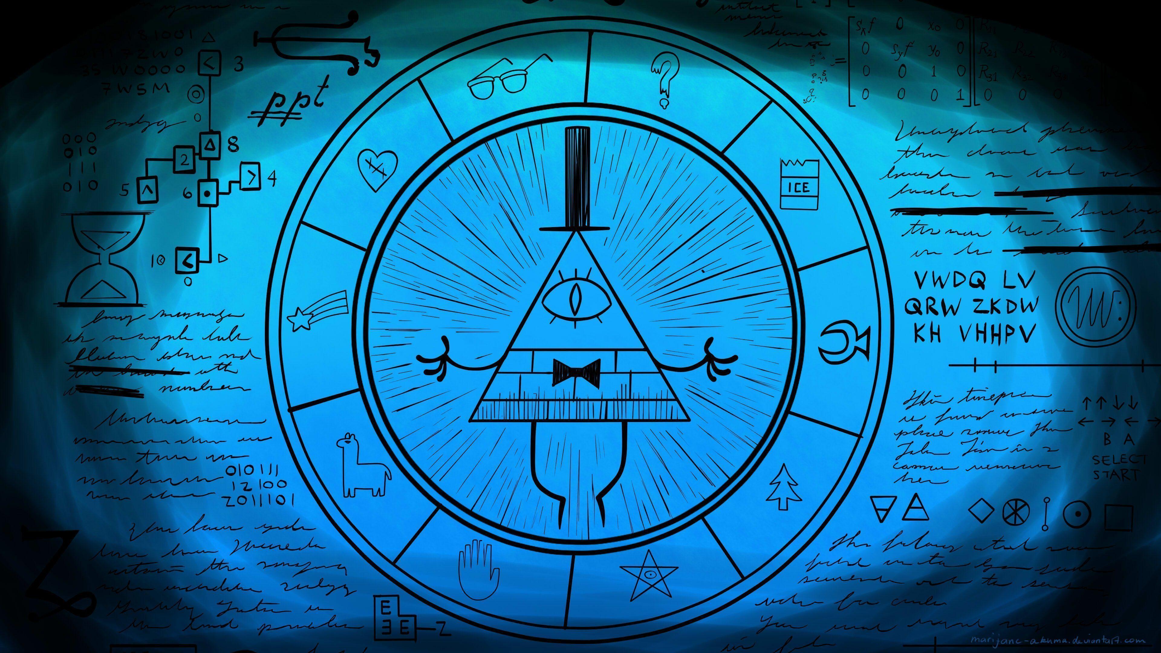 Bill Cipher Wheel Wallpaper – WallpaperSafari