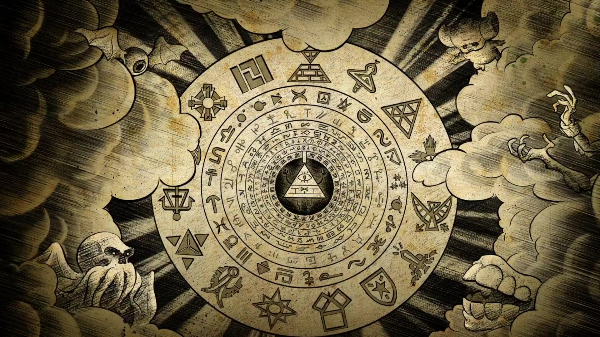 So now that we know the Cipher wheel symbols did represent people, let's  look at this. Were these people meant to defeat Bill in other time periods  under …