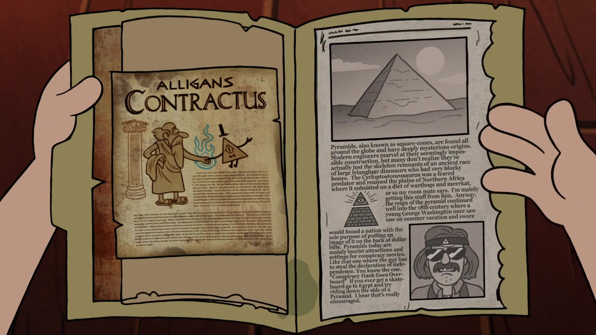 … people's minds, Bill has influenced and subtly manipulated humans  throughout history (for example, the Egyptian pyramids were created in his  image, …
