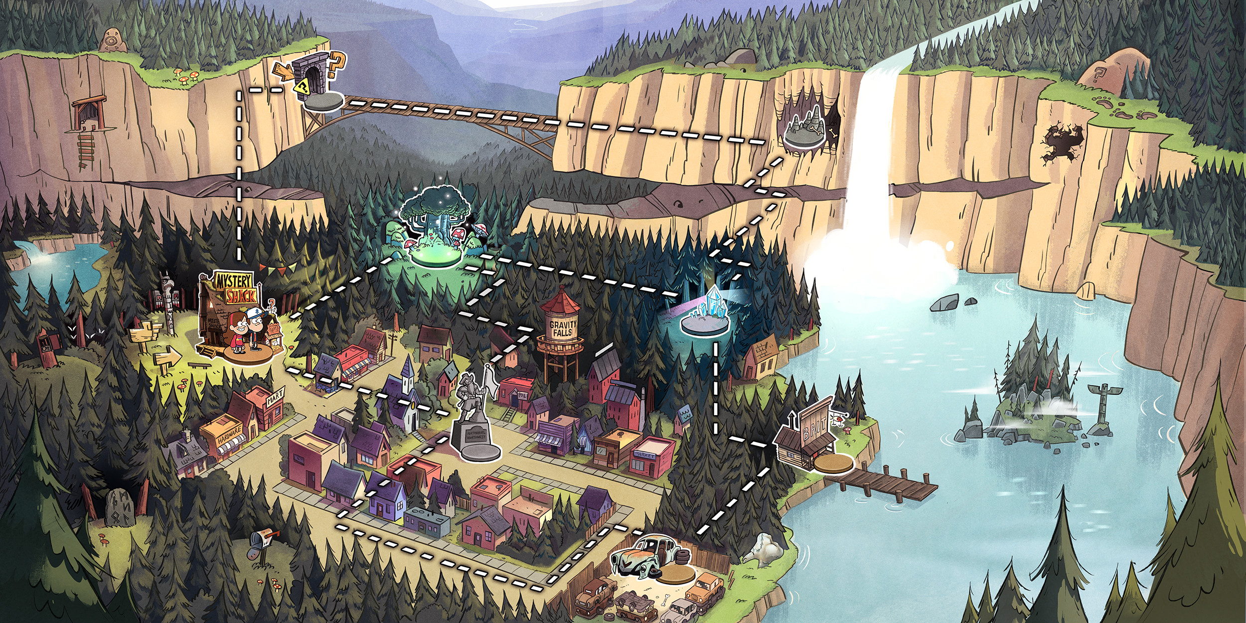 20 Gravity Falls HD Wallpapers | Backgrounds – Wallpaper Abyss