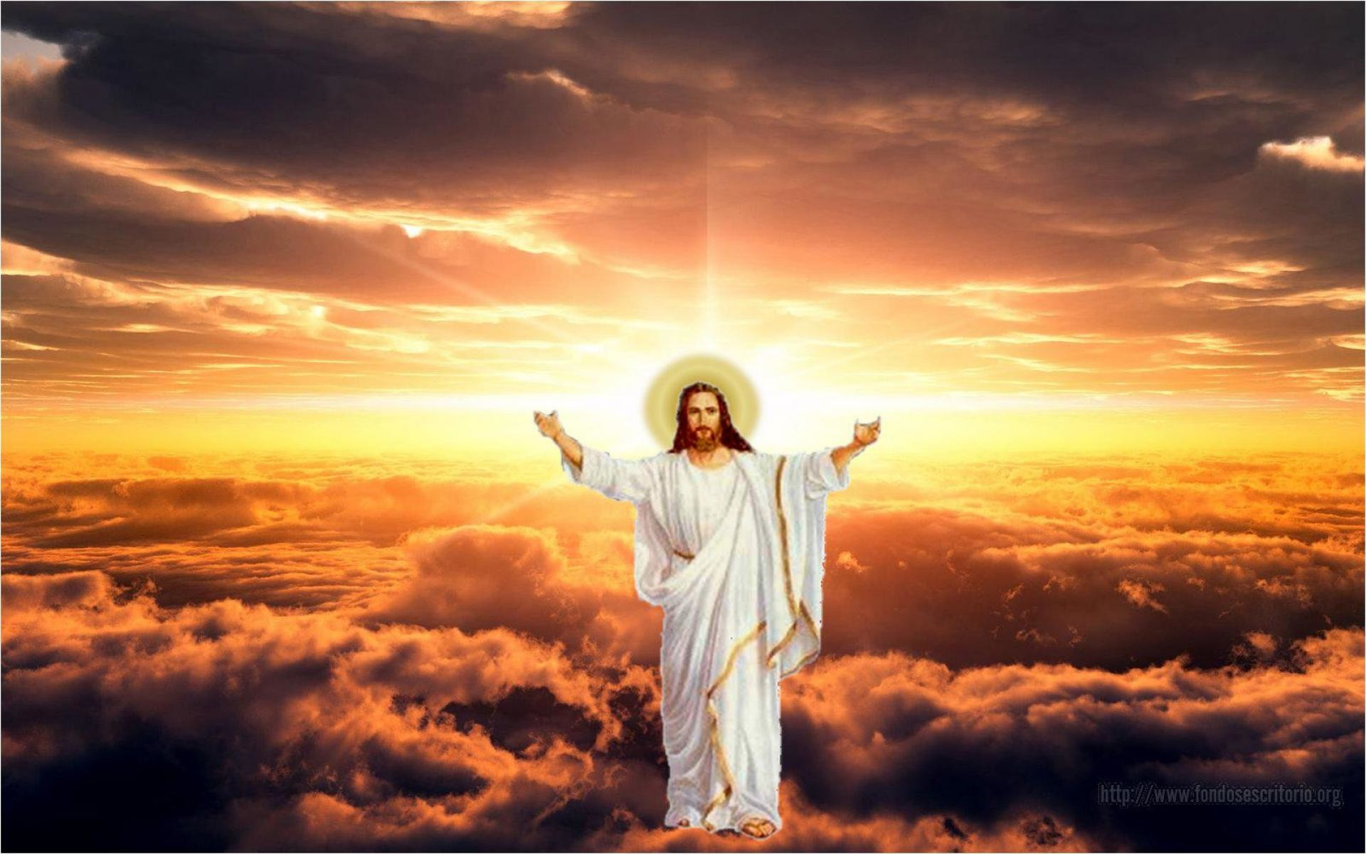 wallpaper: Jesus Christ, glory of God, risen, ascension .