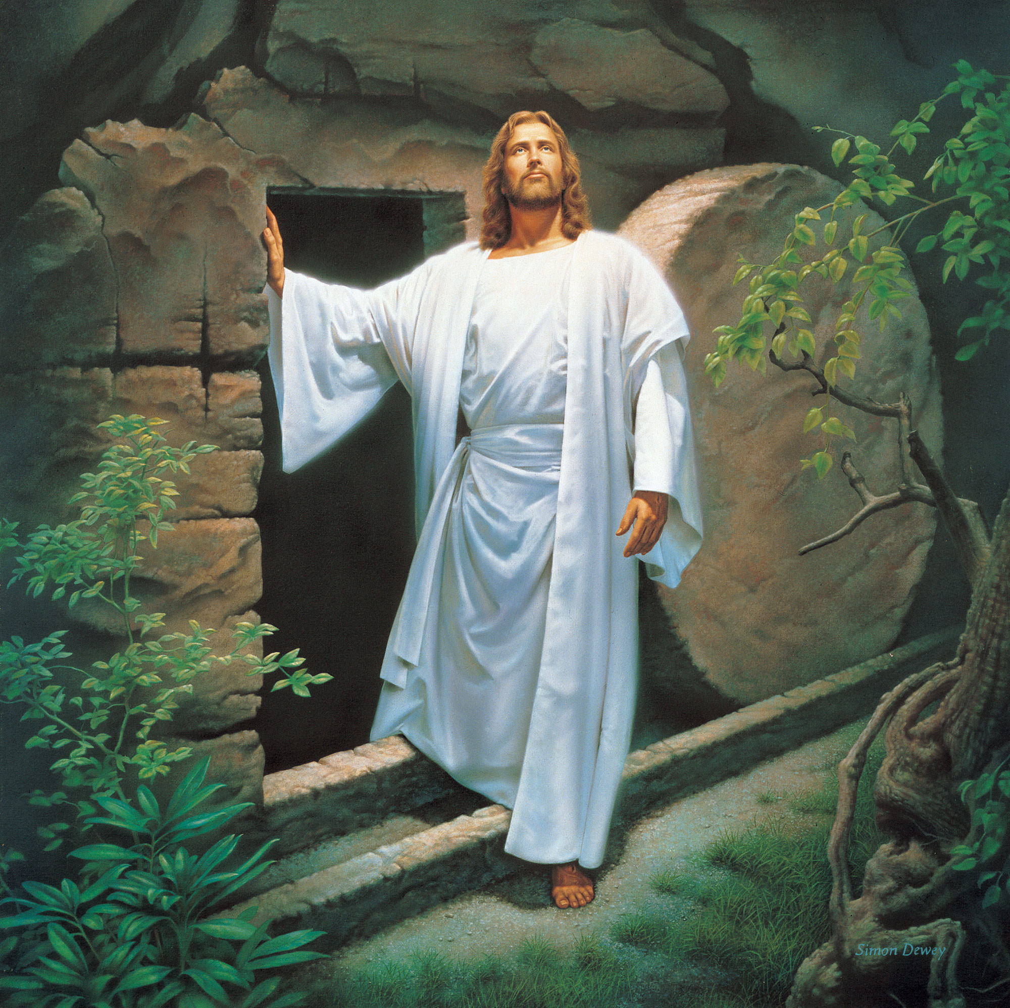 Jesus Christ brough about the resurrection of the dead, thus overcoming the  bands of death