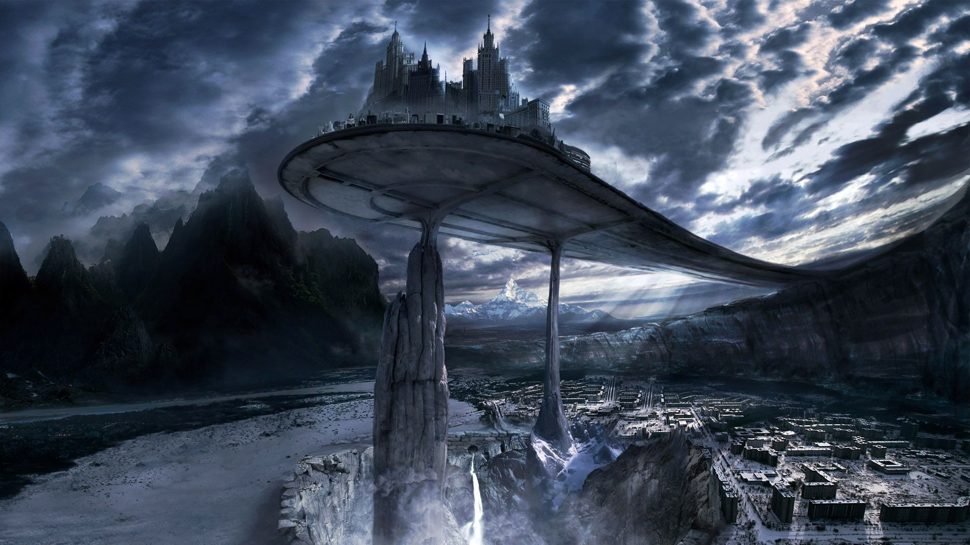 … 40 Best 3D Fantasy Places HD Wallpapers 1920×1080