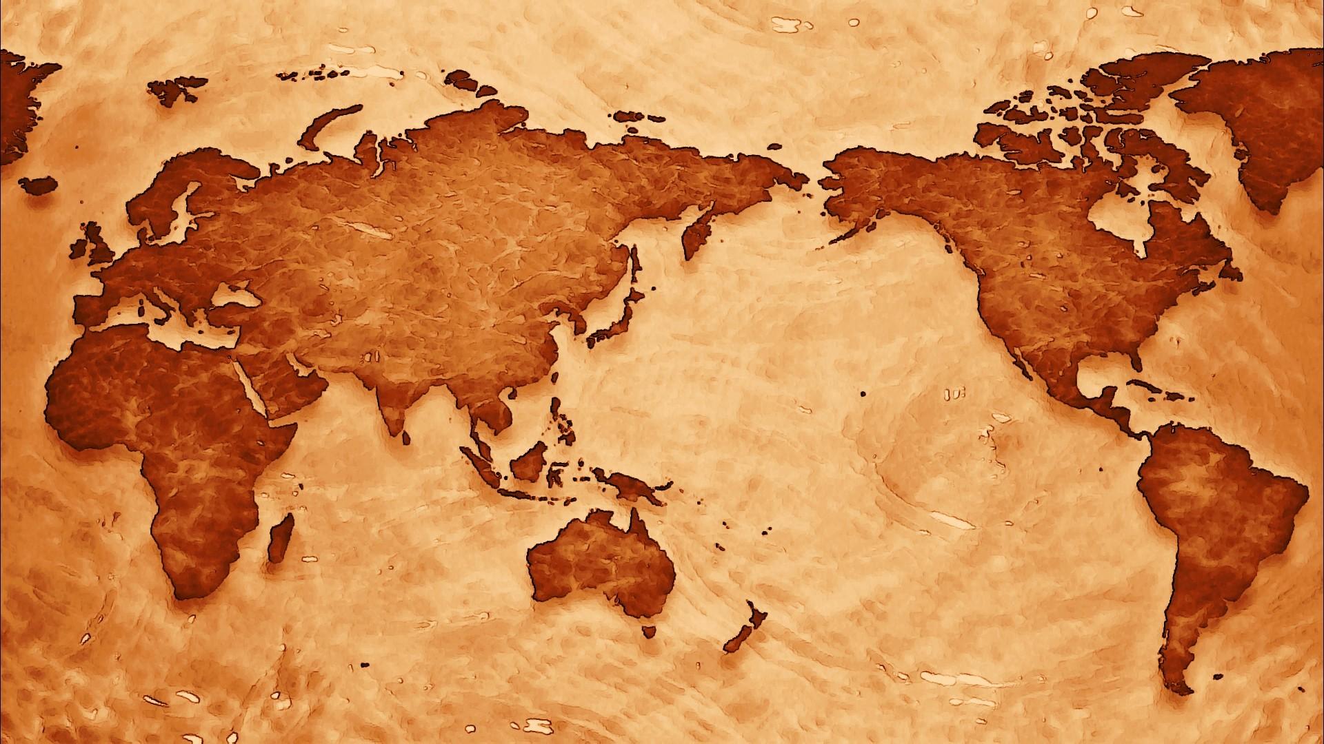 Misc – World Map Wallpaper