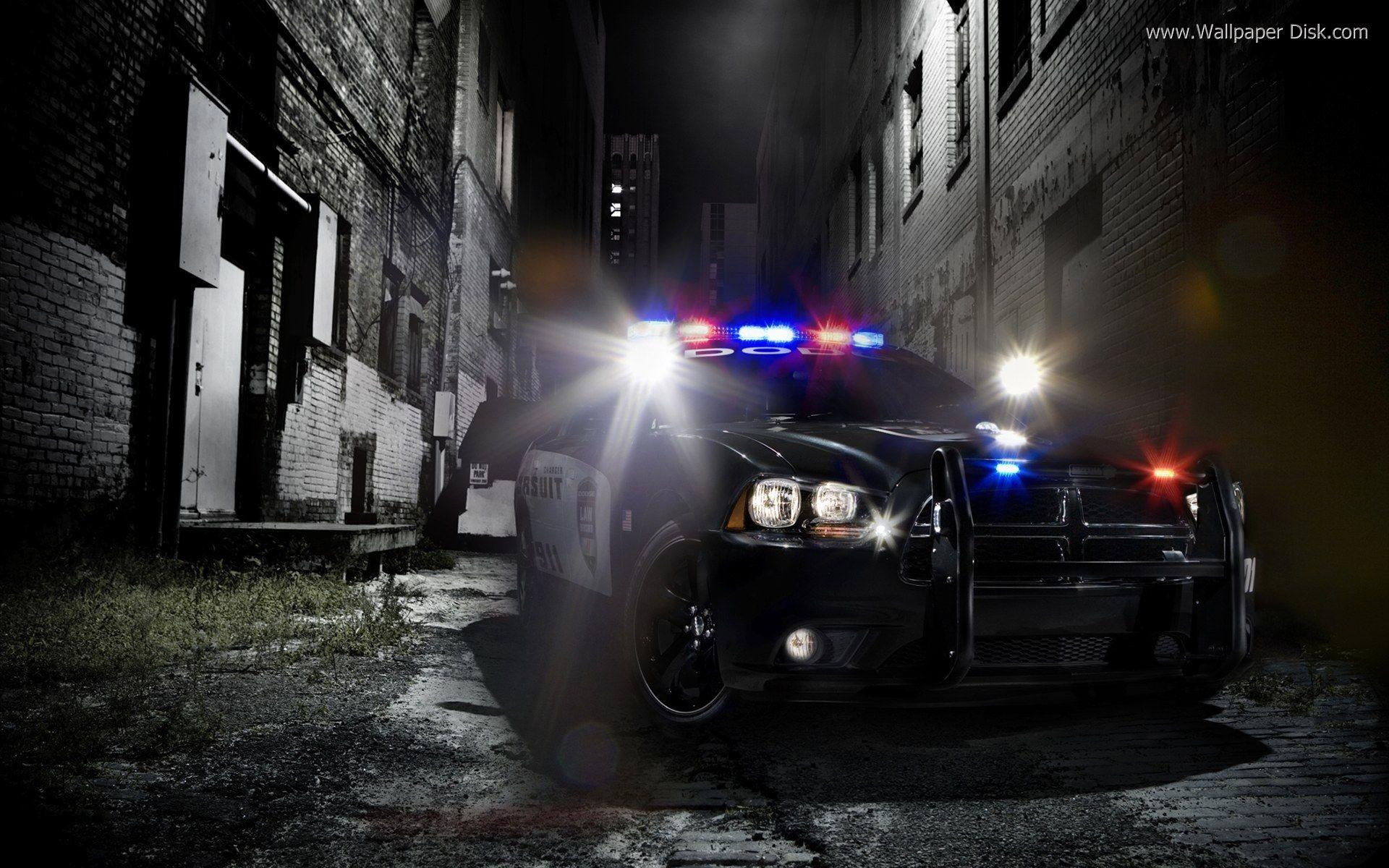 Best Police car desktop wallpapers background collection