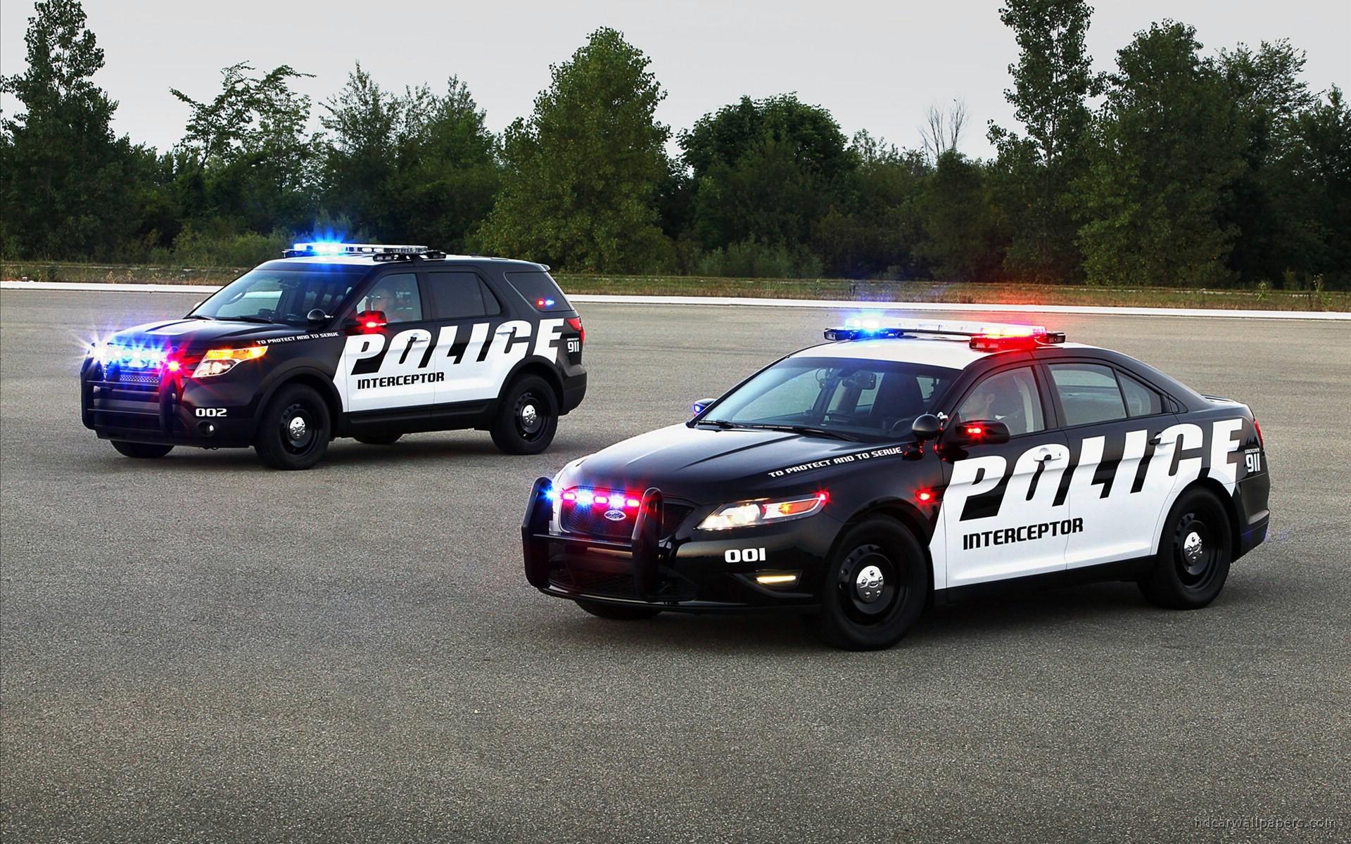 2011 Ford Police Interceptor SUV 2 Wallpaper | HD Car Wallpapers