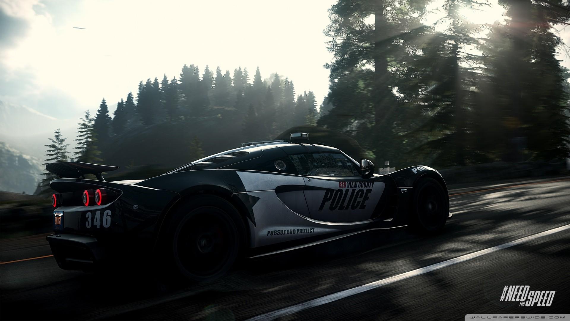 Need for Speed Rivals Police Car HD desktop wallpaper : Widescreen