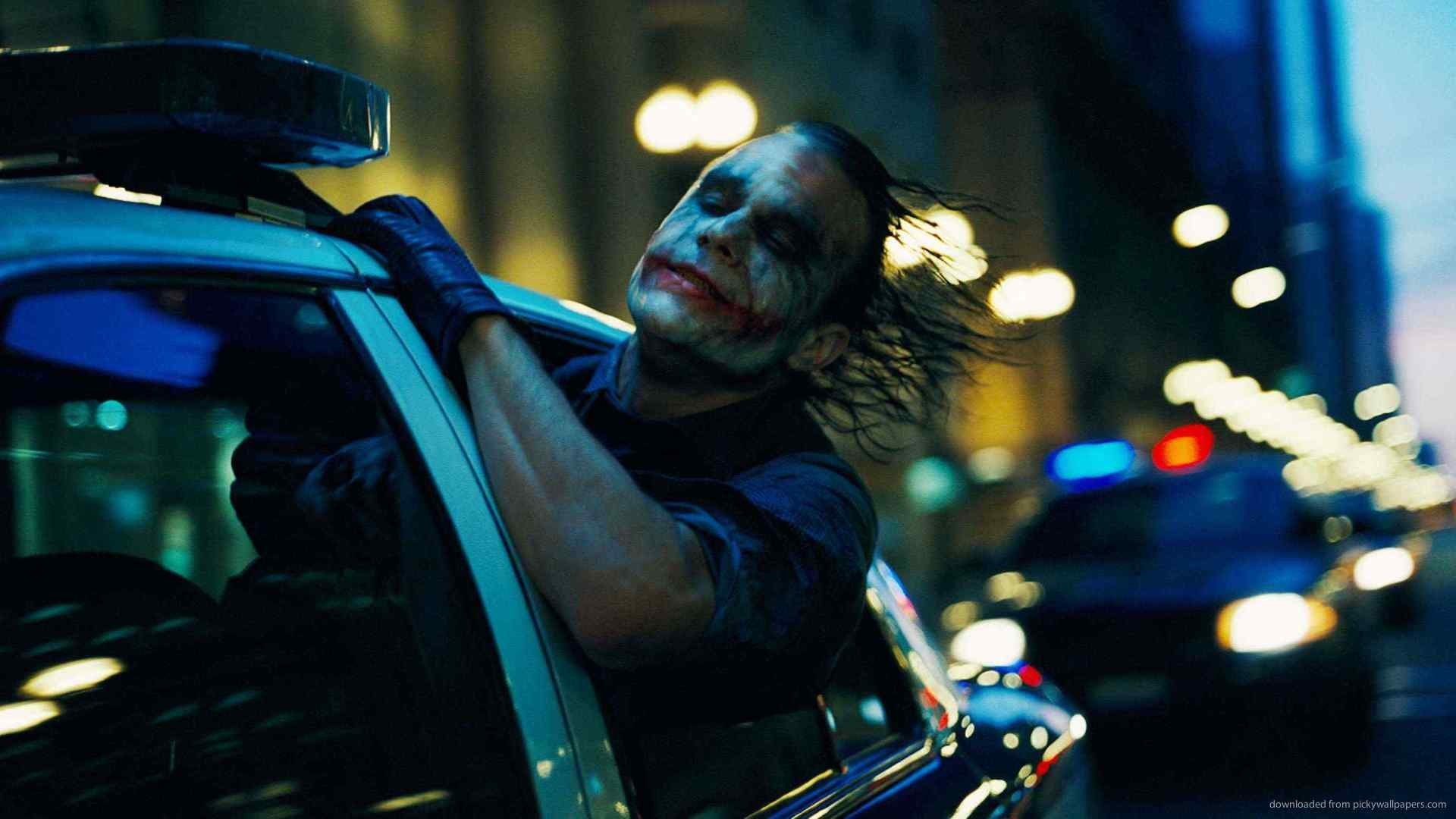 Blackberry, iPad, Joker In A Police Car Screensaver For Kindle3 And .