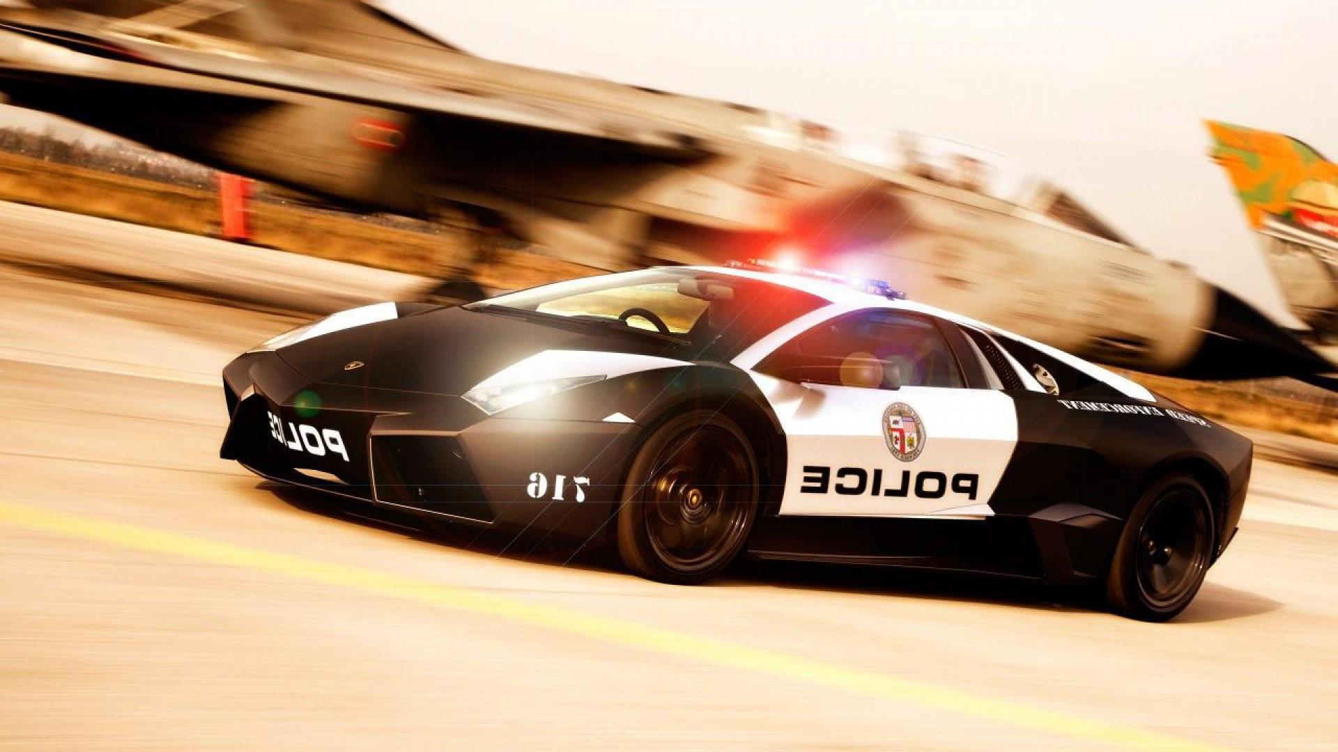Police Lamborghini