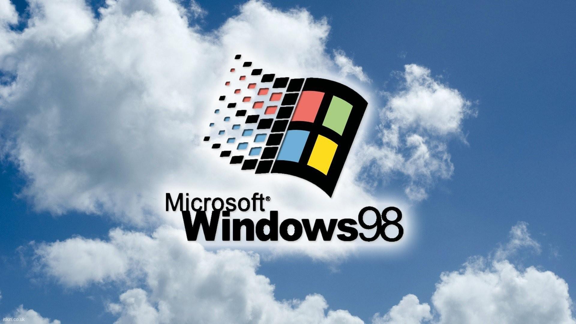 Windows 98 Microsoft Vintage 90s Computers