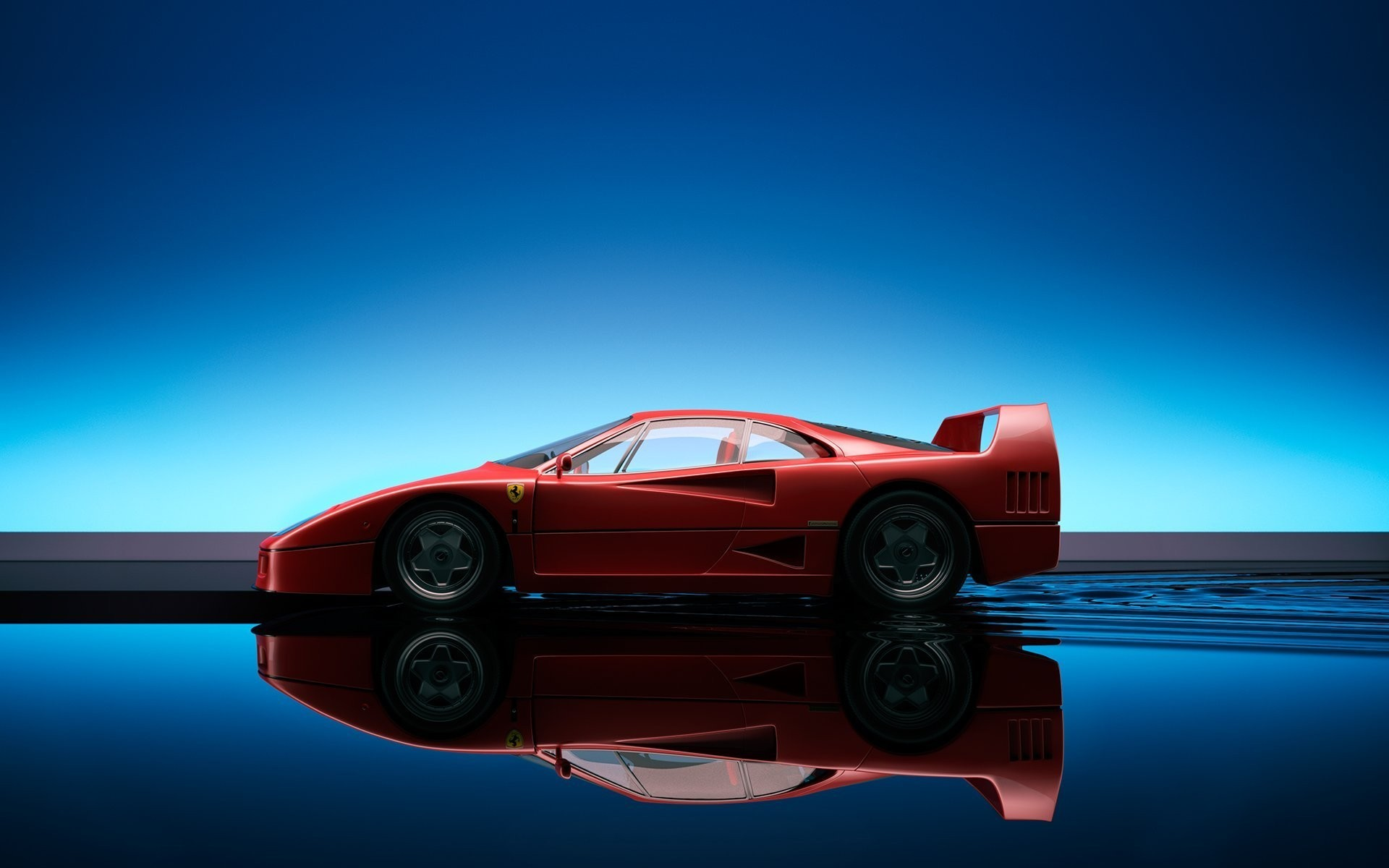 Adorable HDQ Backgrounds of Ferrari F40, 1920×1200