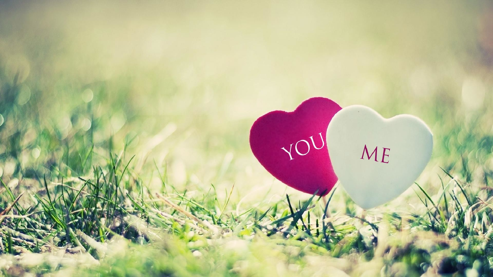 You and me cute hearts