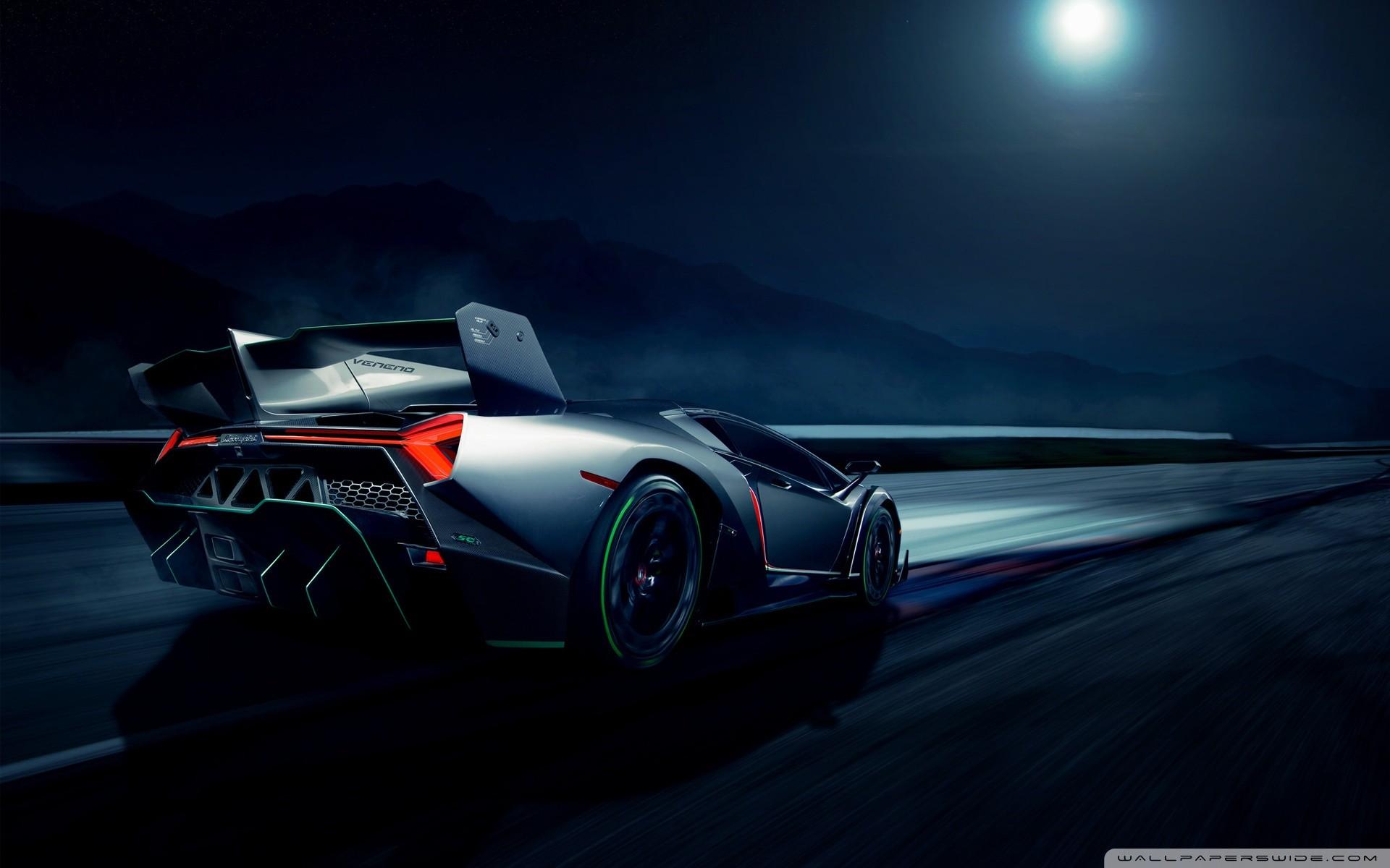 Lamborghini Veneno Supercar HD Wide Wallpaper for Widescreen